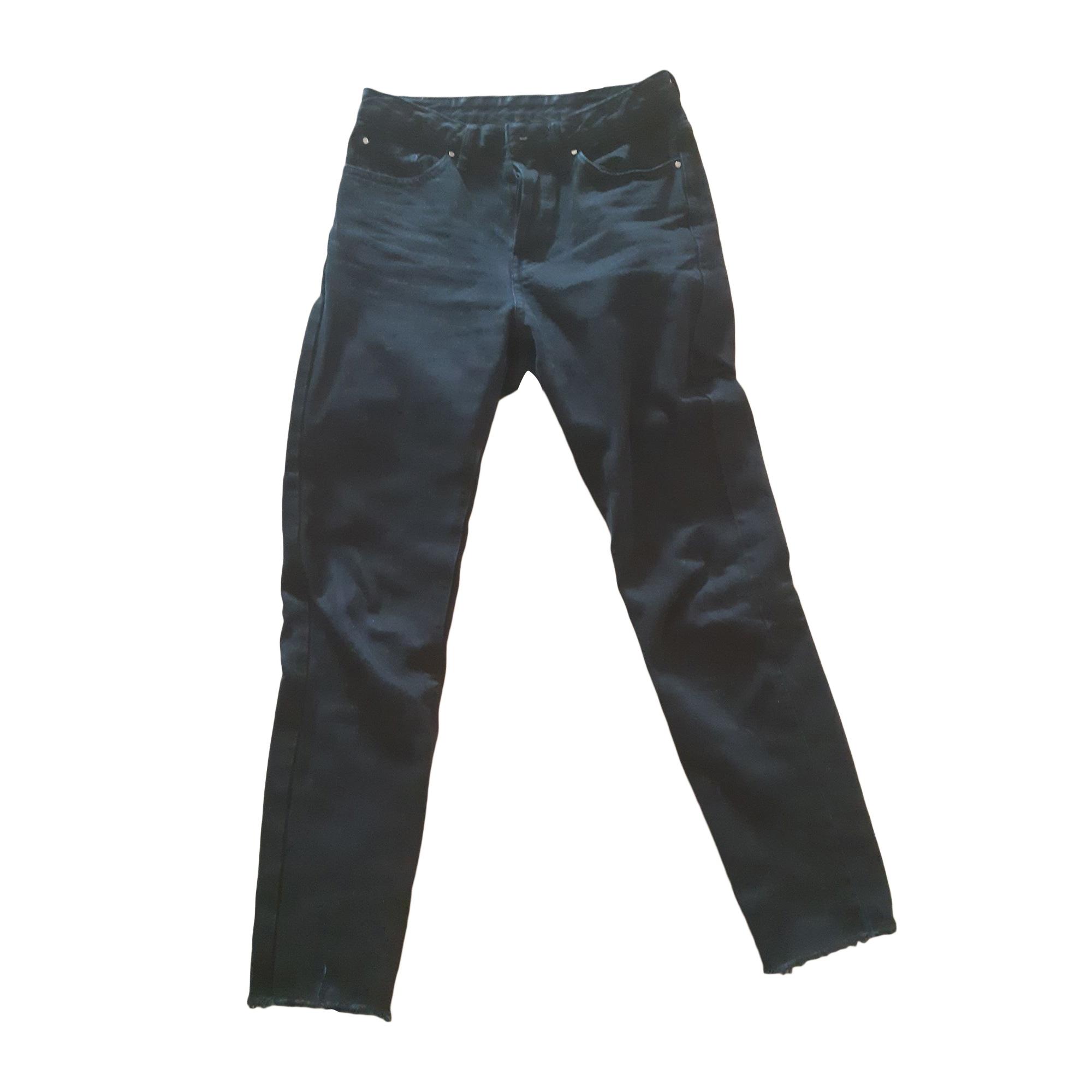 Jeans slim SÉZANE Noir