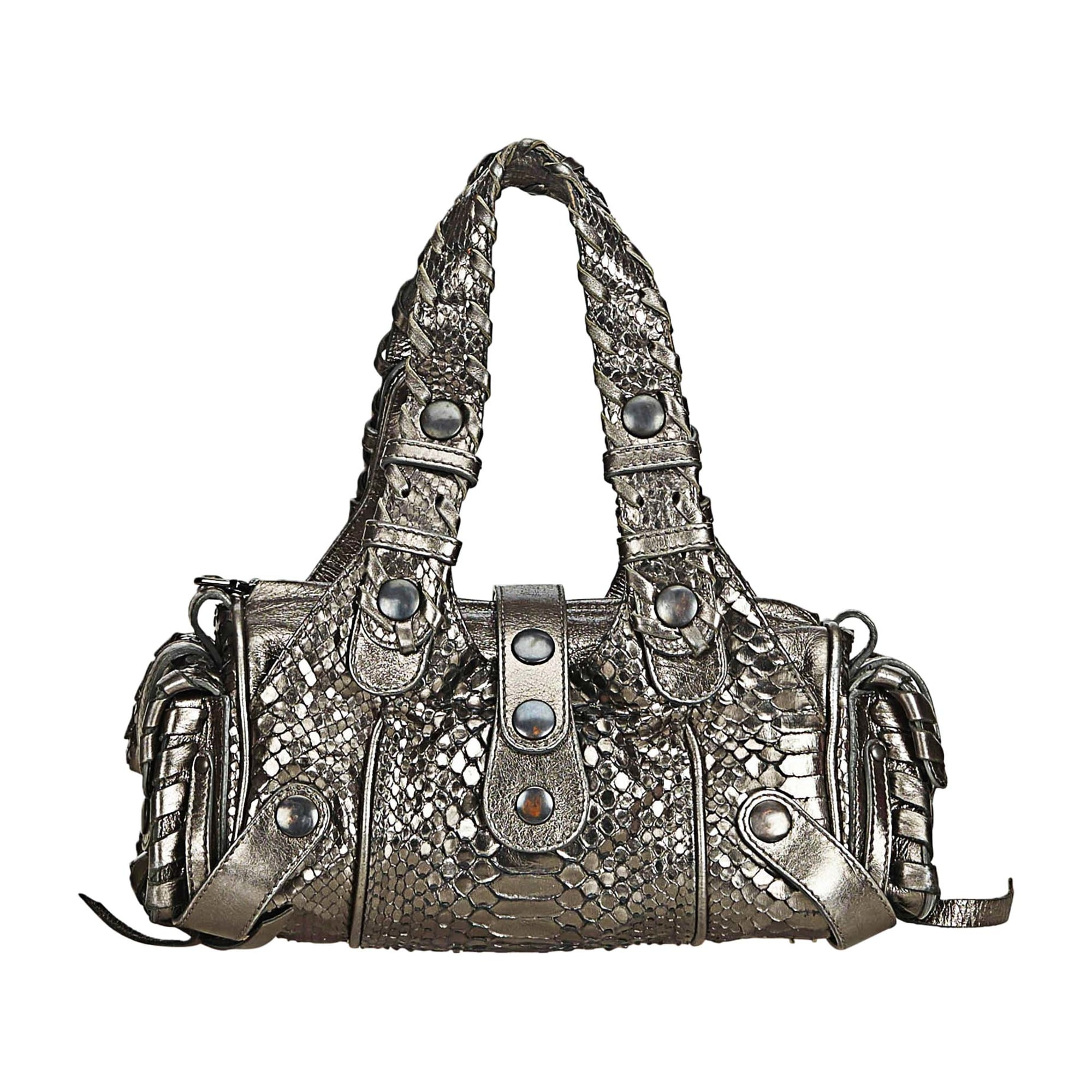 Leather Shoulder Bag SEE BY CHLOE Gray