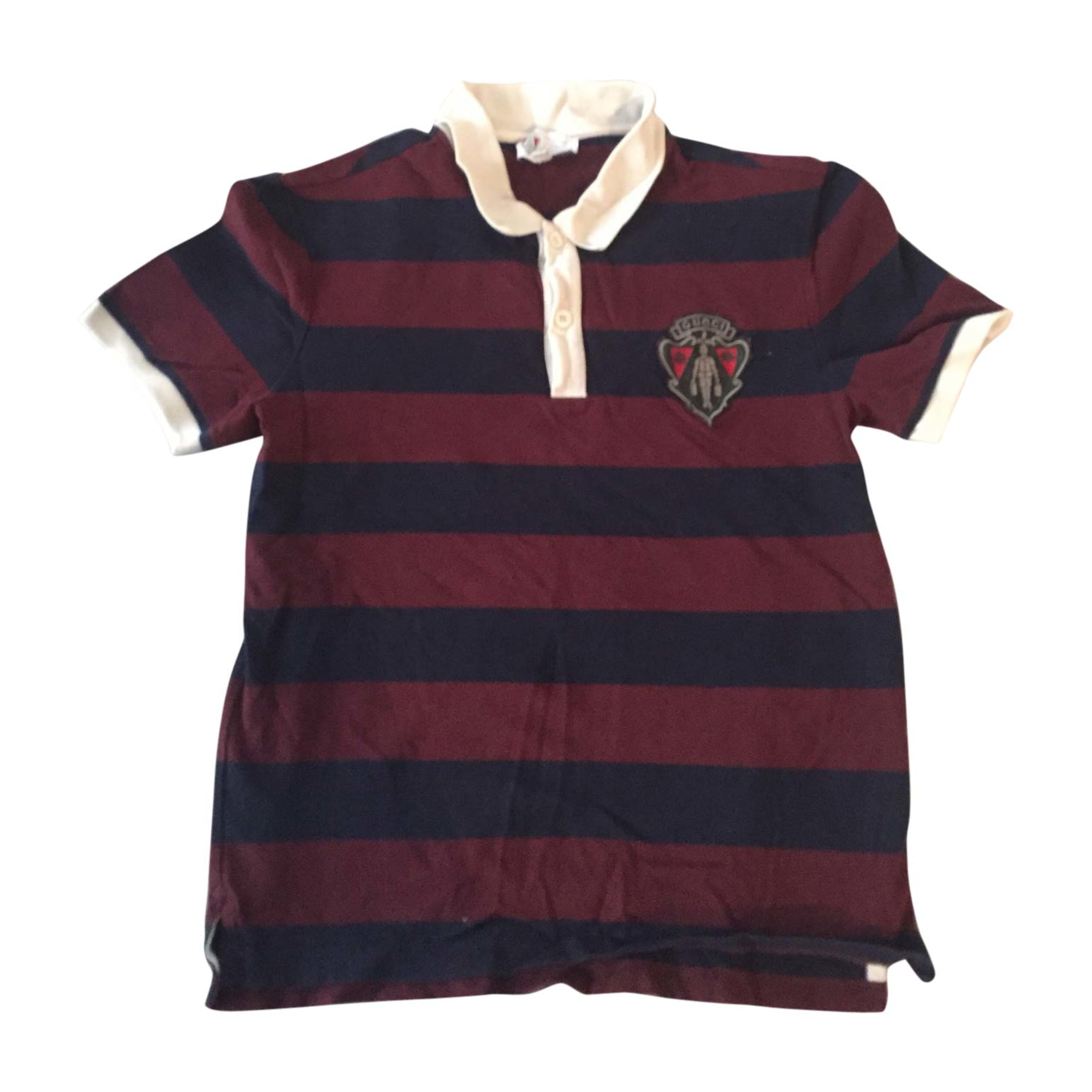 Polo GUCCI Bordeaux/marine, blanc