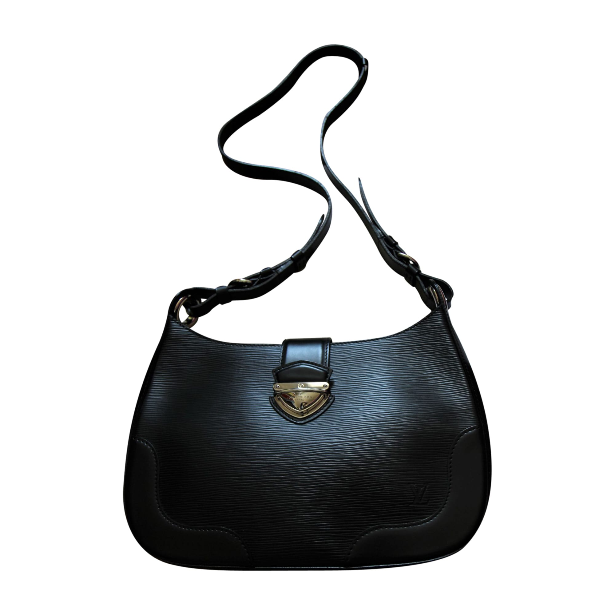 f9823488170e Sac en bandoulière en cuir LOUIS VUITTON noir - 8423856