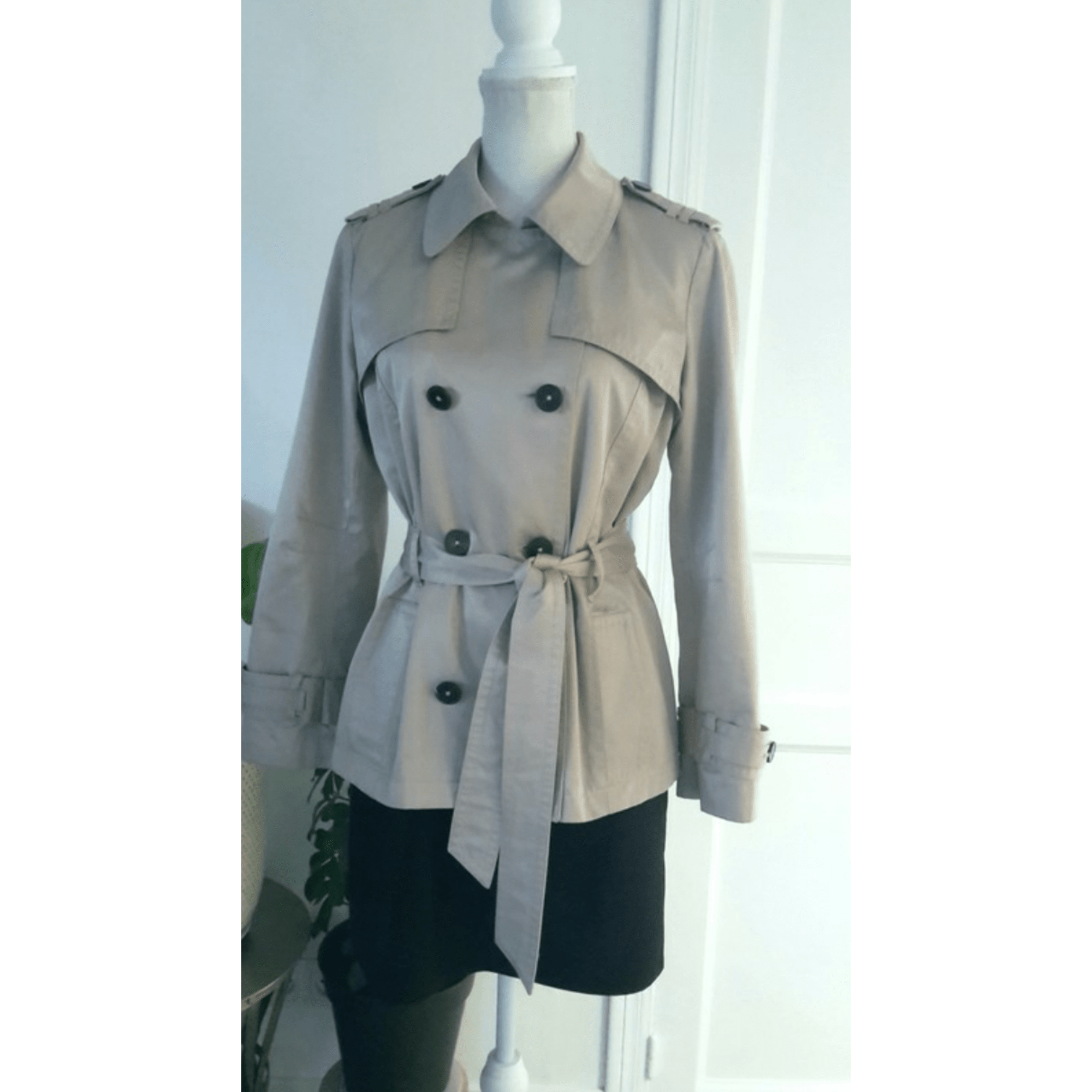 6670c644ae71 Imperméable, trench CAROLL 40 (L, T3) beige - 8427372
