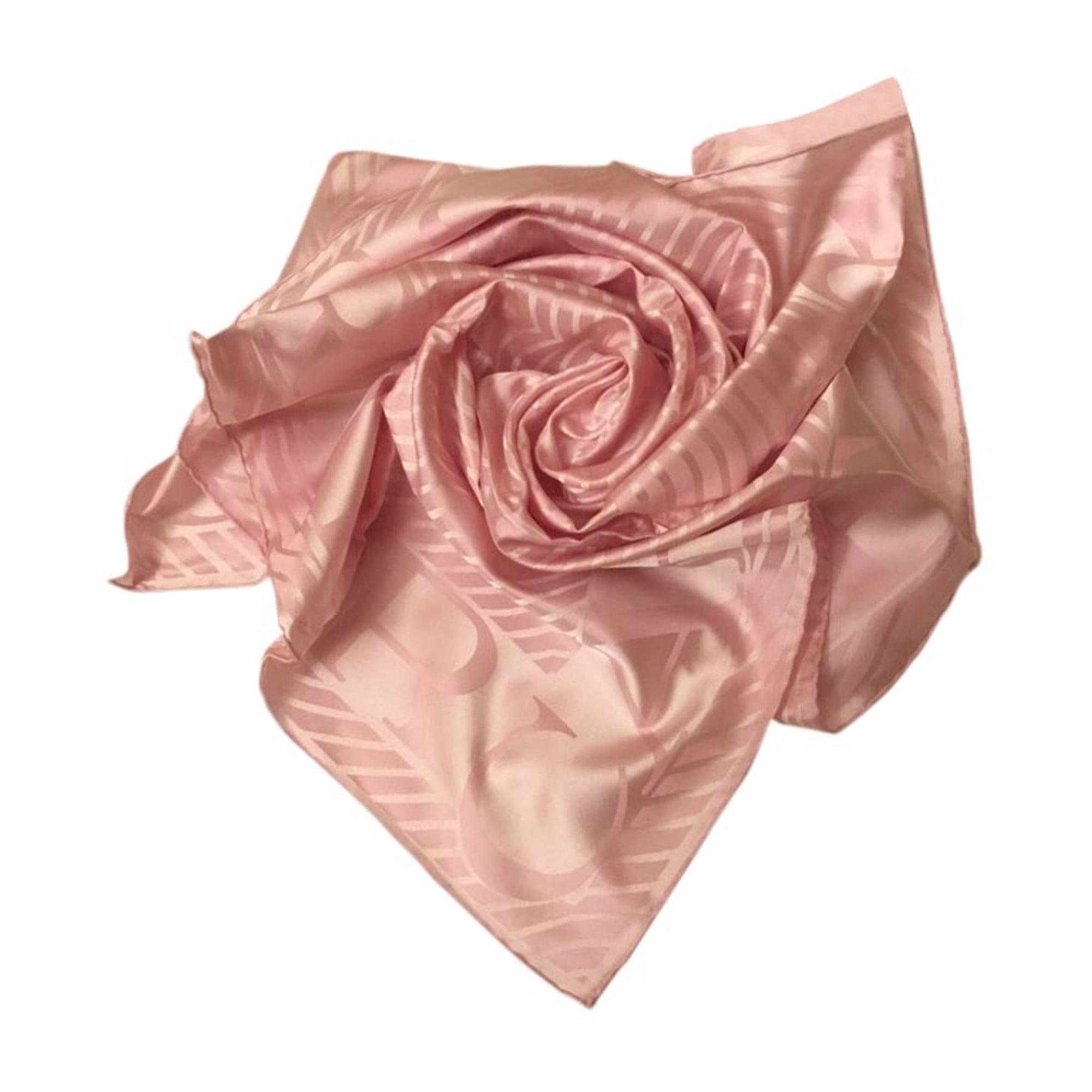 Foulard CARTIER Rose, fuschia, vieux rose 82e9d802215