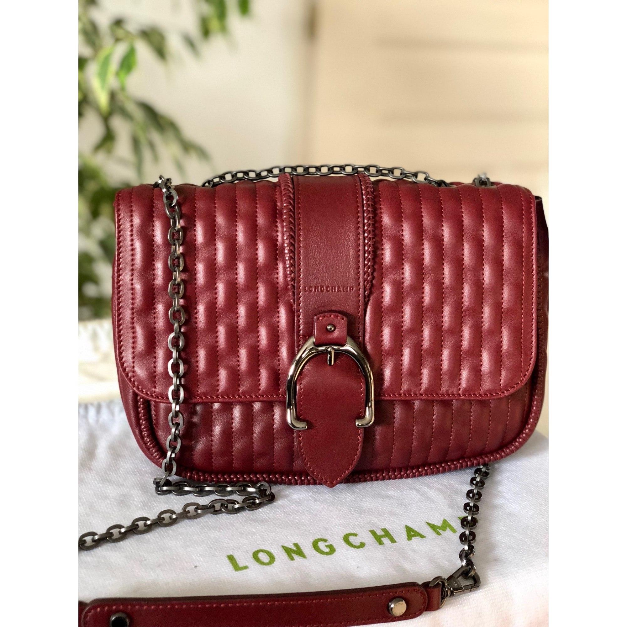 99fe5a64657 Sac en bandoulière en cuir LONGCHAMP rouge vendu par Marmousez - 8435791