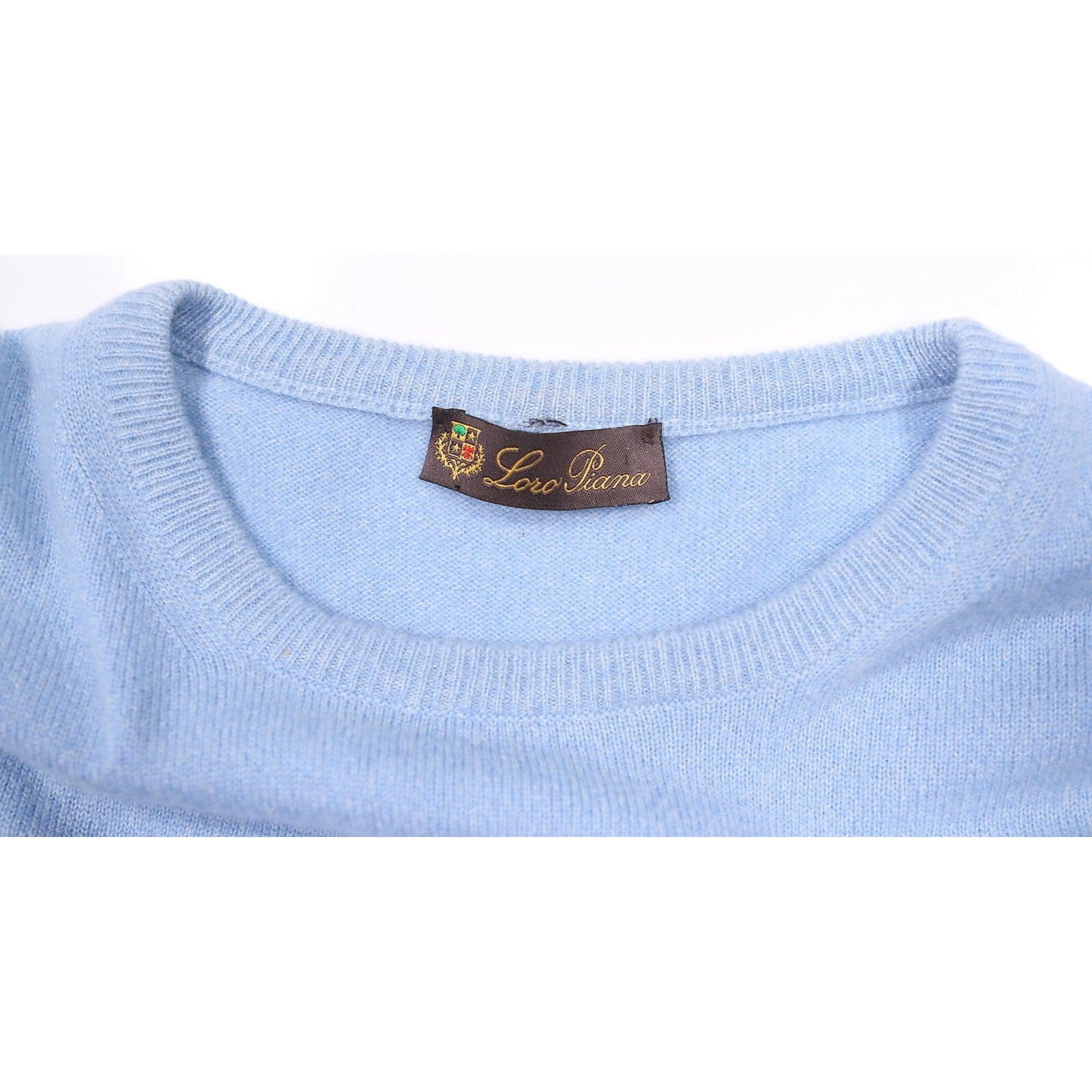 Pull LORO PIANA Bleu, bleu marine, bleu turquoise
