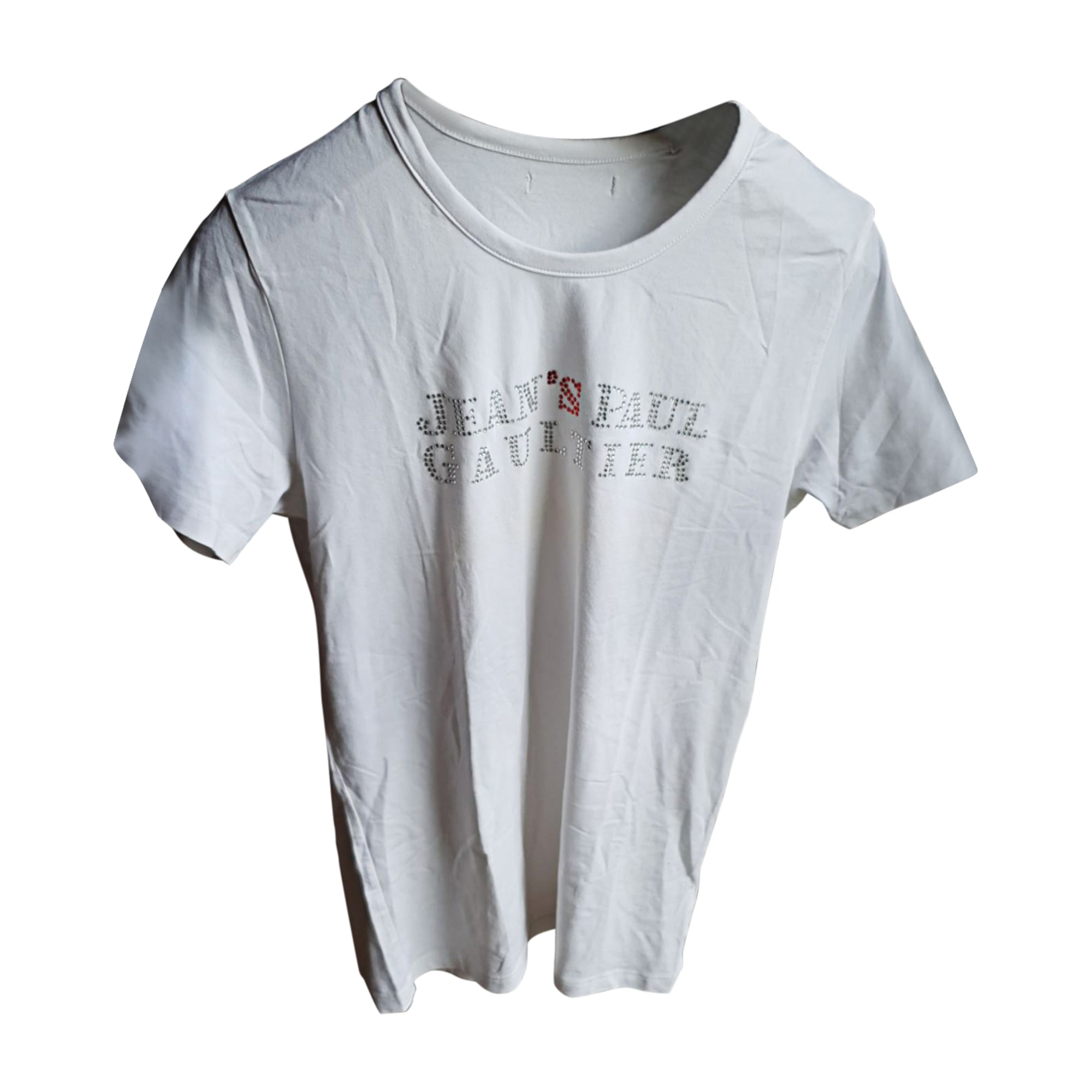 T-shirt JEAN PAUL GAULTIER White, off-white, ecru