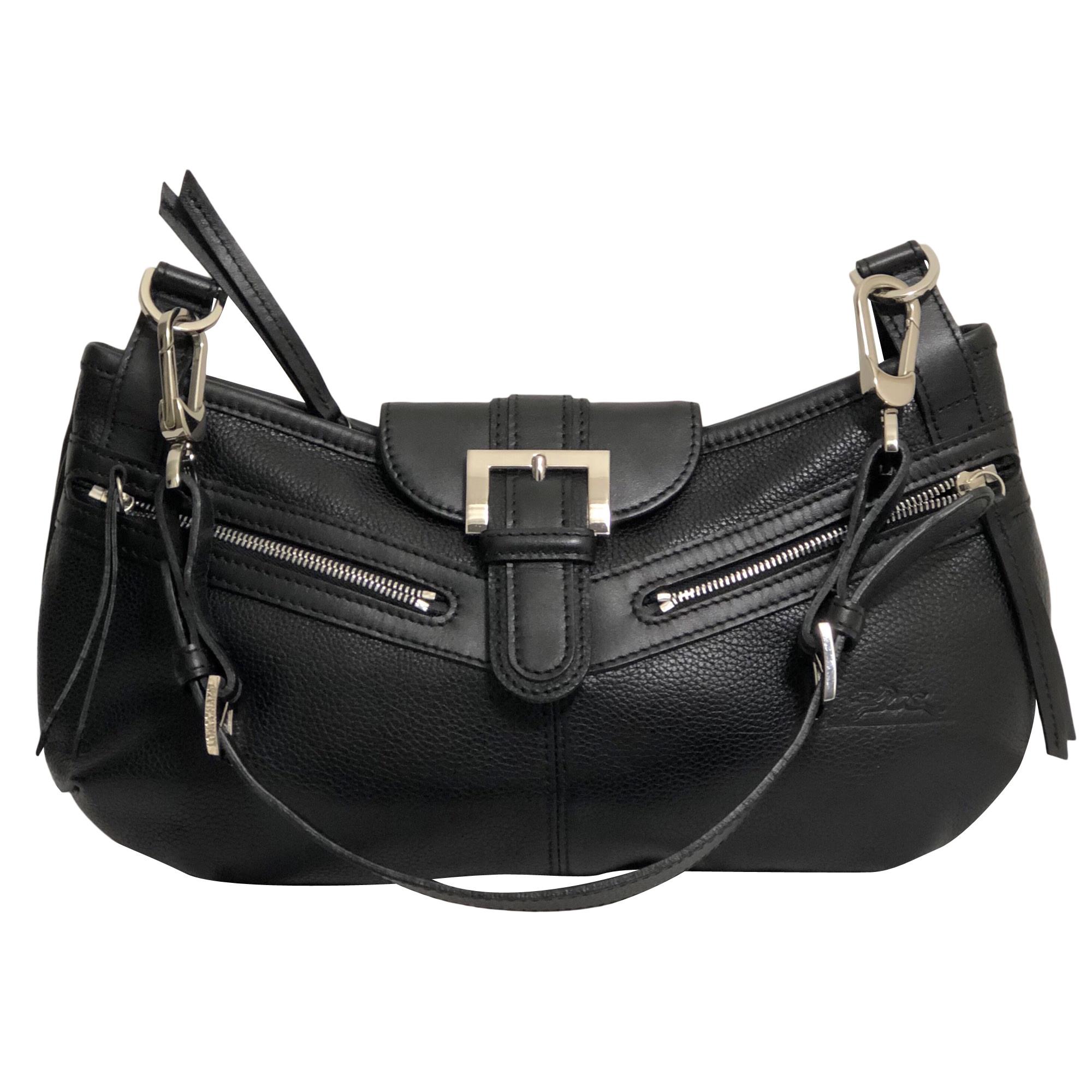 Pochette Sac Longchamp En Cuir Noir 8RwPBq