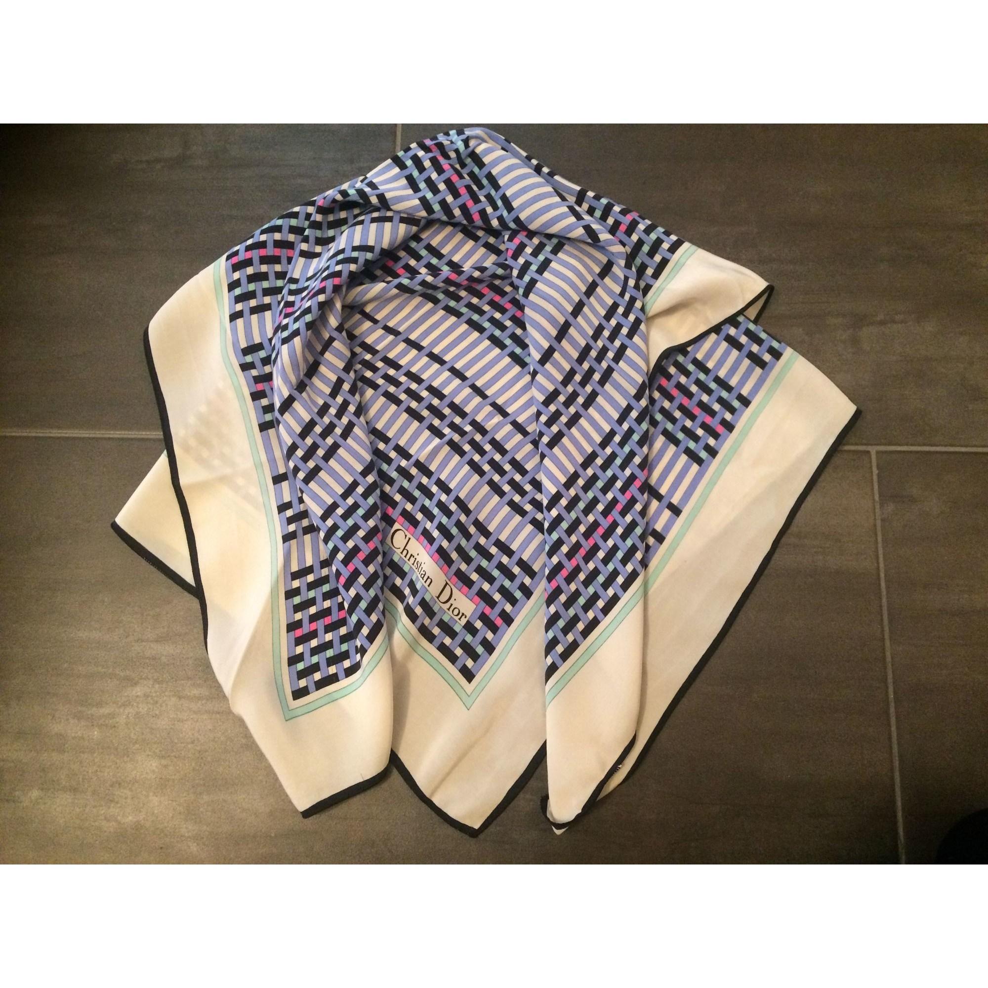 faire les courses pour comment choisir style de mode Foulard DIOR