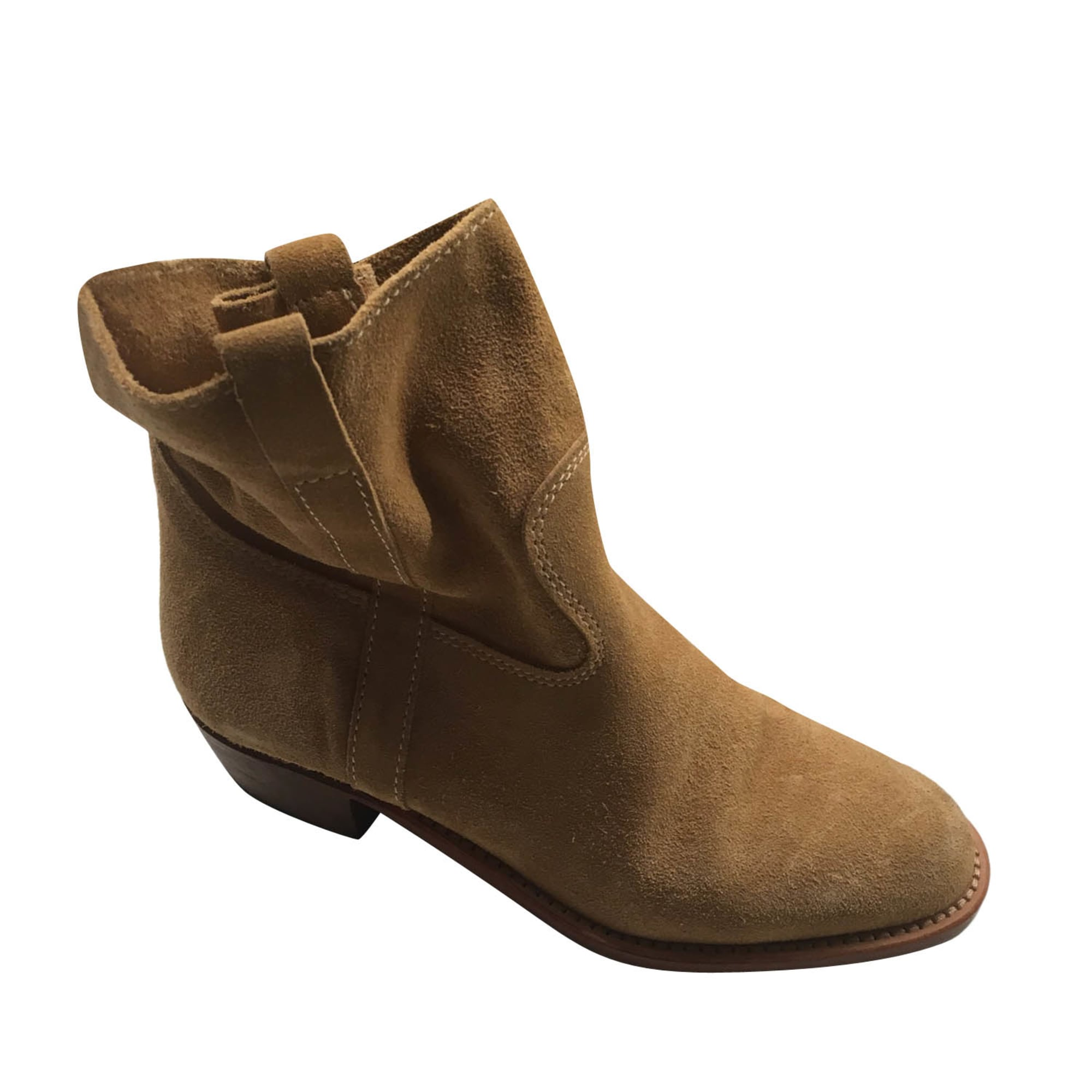 High Heel Ankle Boots JEROME DREYFUSS Beige, camel