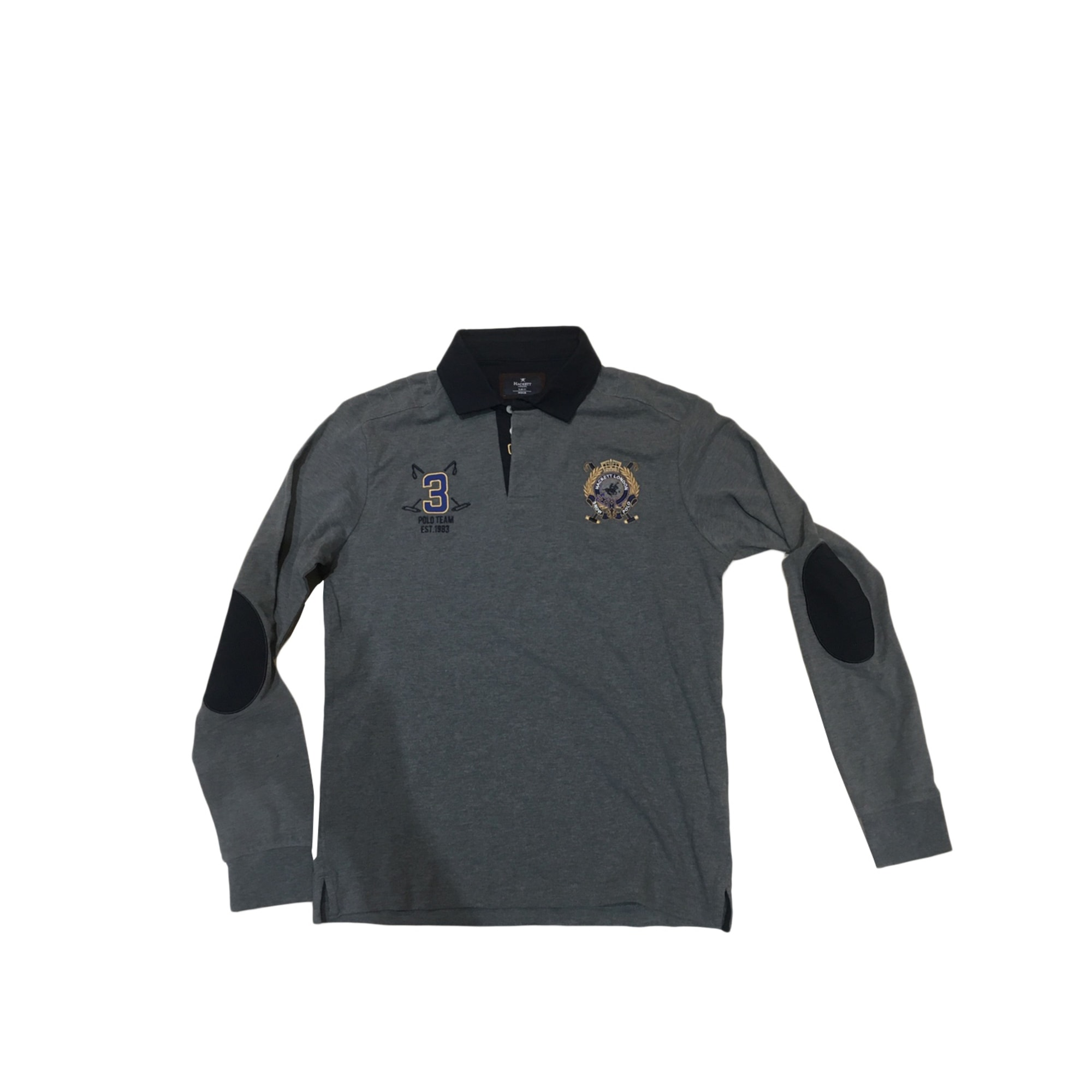 Polo HACKETT Gris, anthracite