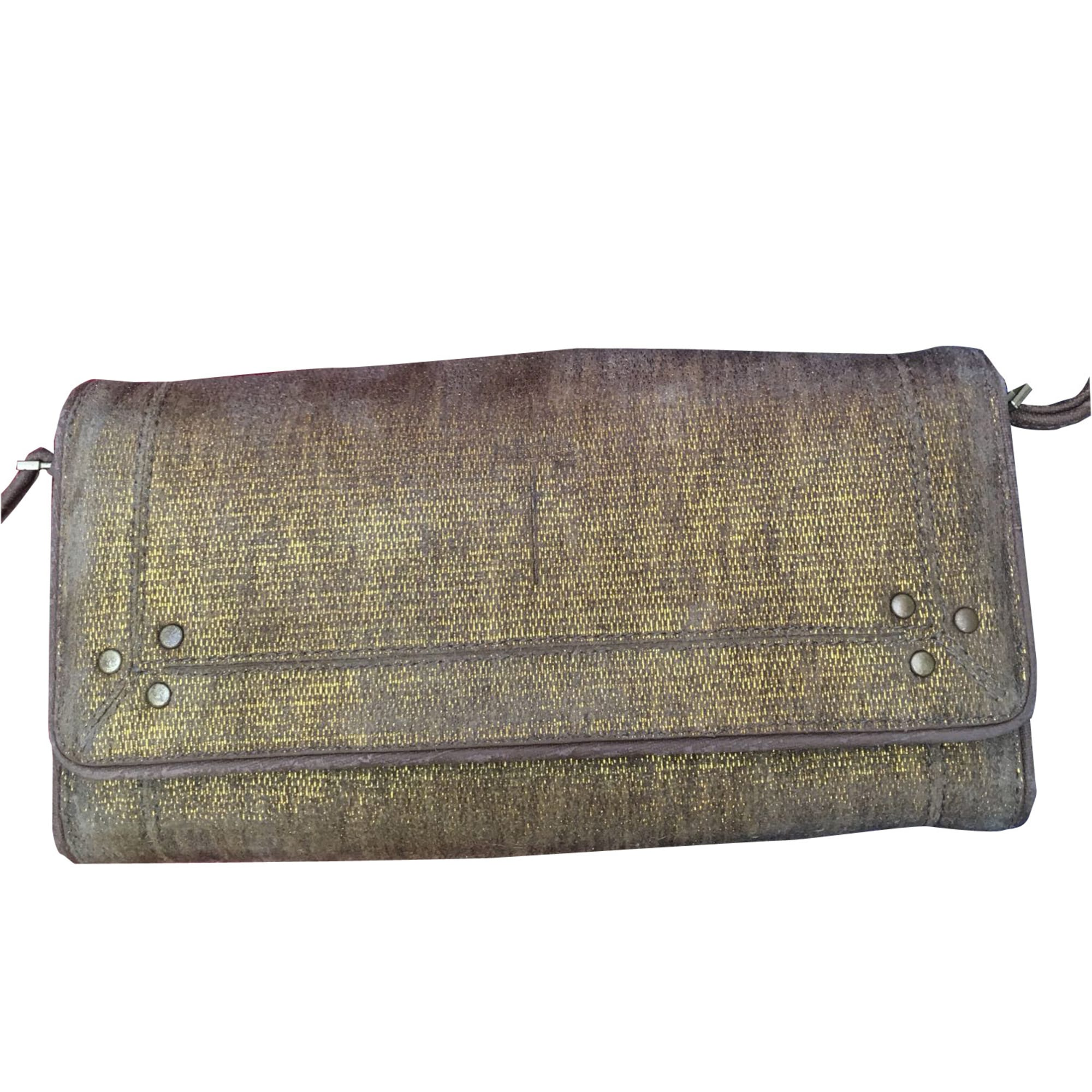 Wallet JEROME DREYFUSS Golden, bronze, copper