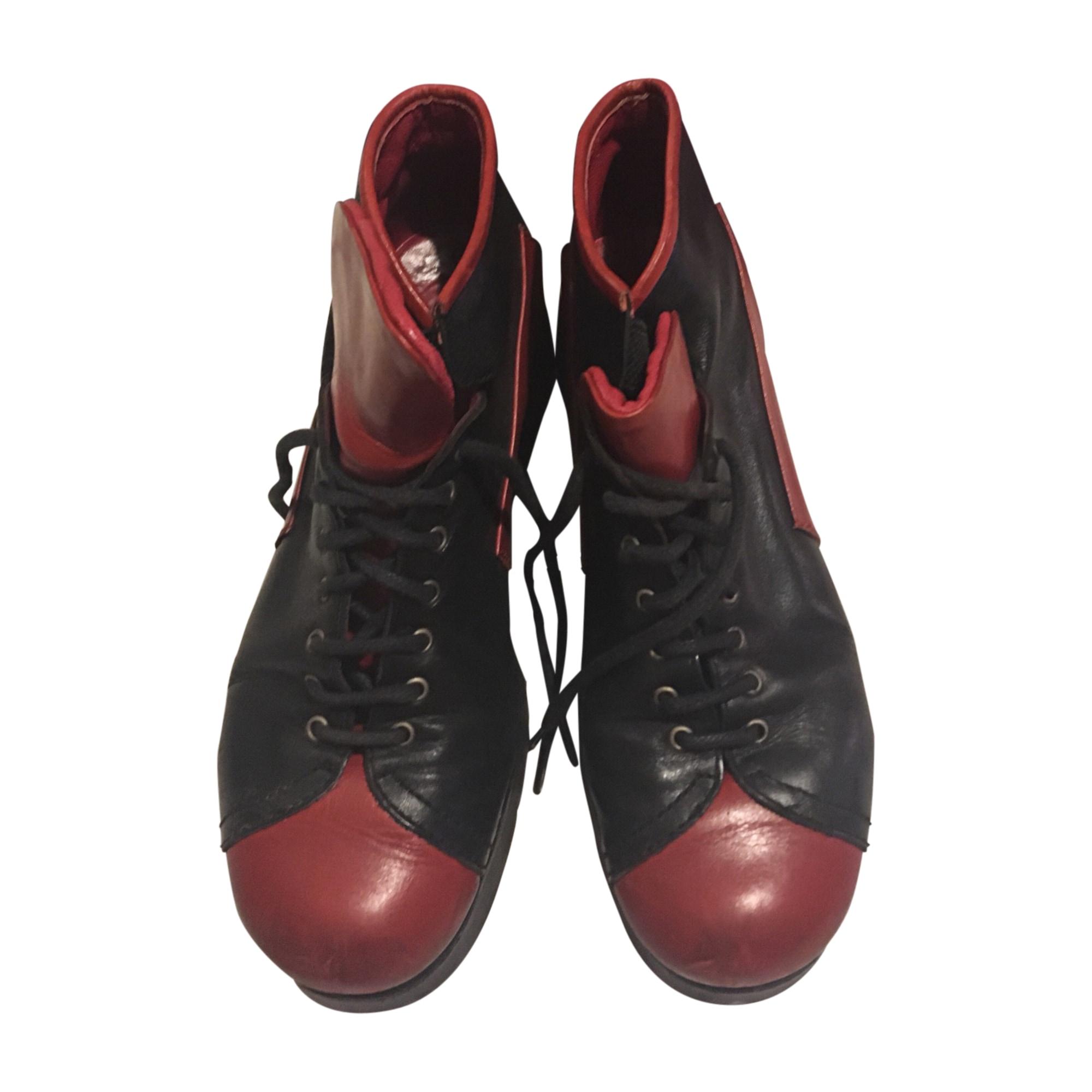 Baskets KENZO Rouge, bordeaux
