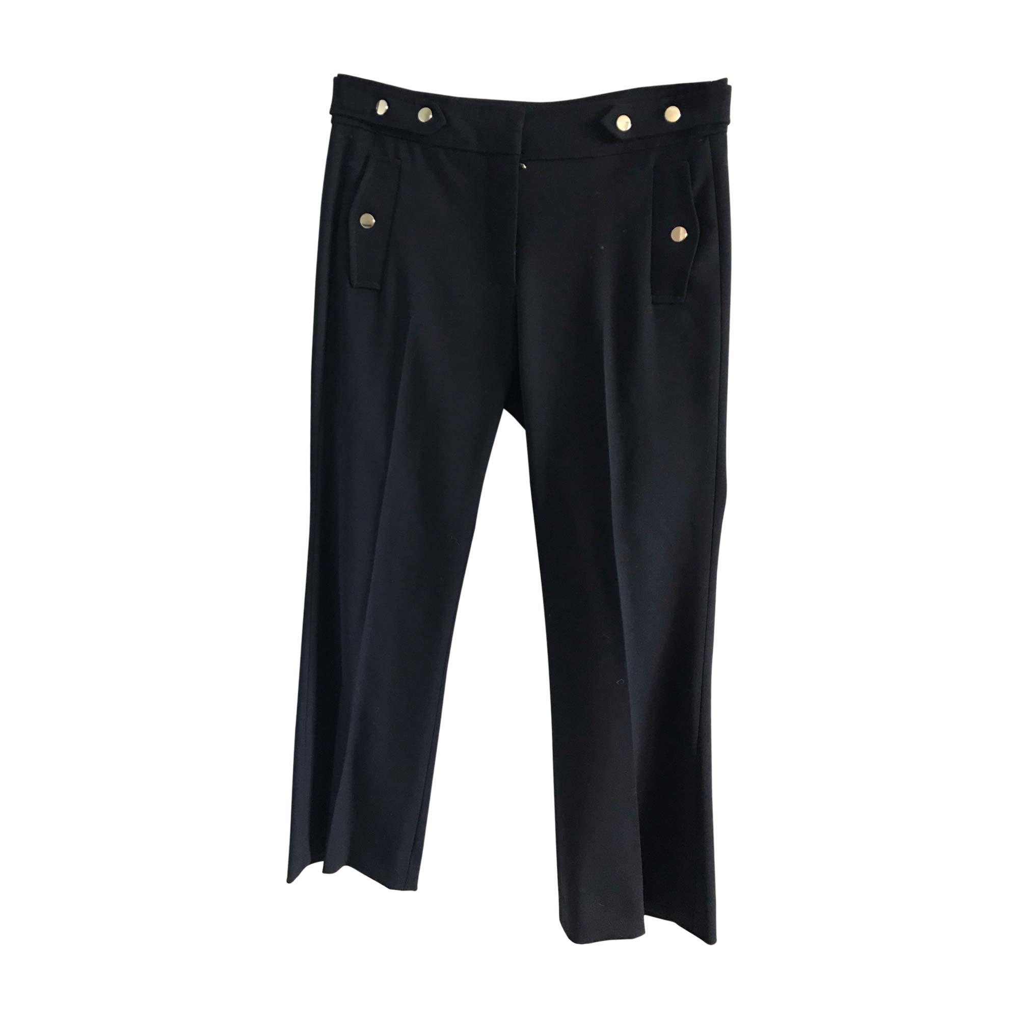 Pantalon large VANESSA BRUNO Bleu, bleu marine, bleu turquoise