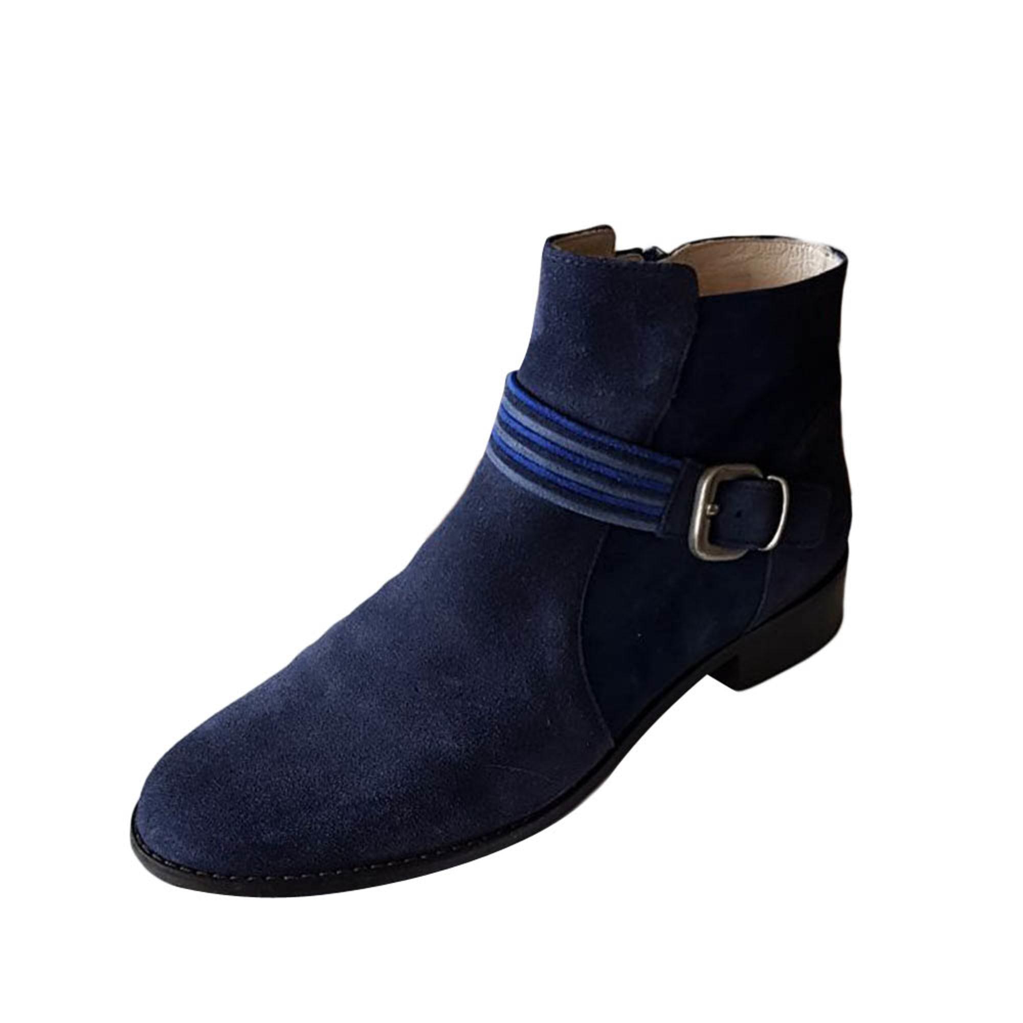 65cbe30f288e0e Santiags, bottines, low boots cowboy MELLOW YELLOW Bleu, bleu marine, bleu  turquoise