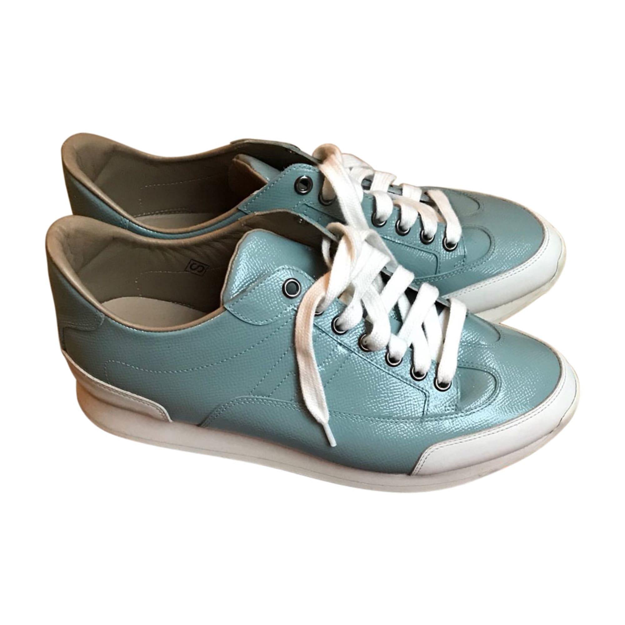 Sneakers HERMÈS Blue, navy, turquoise