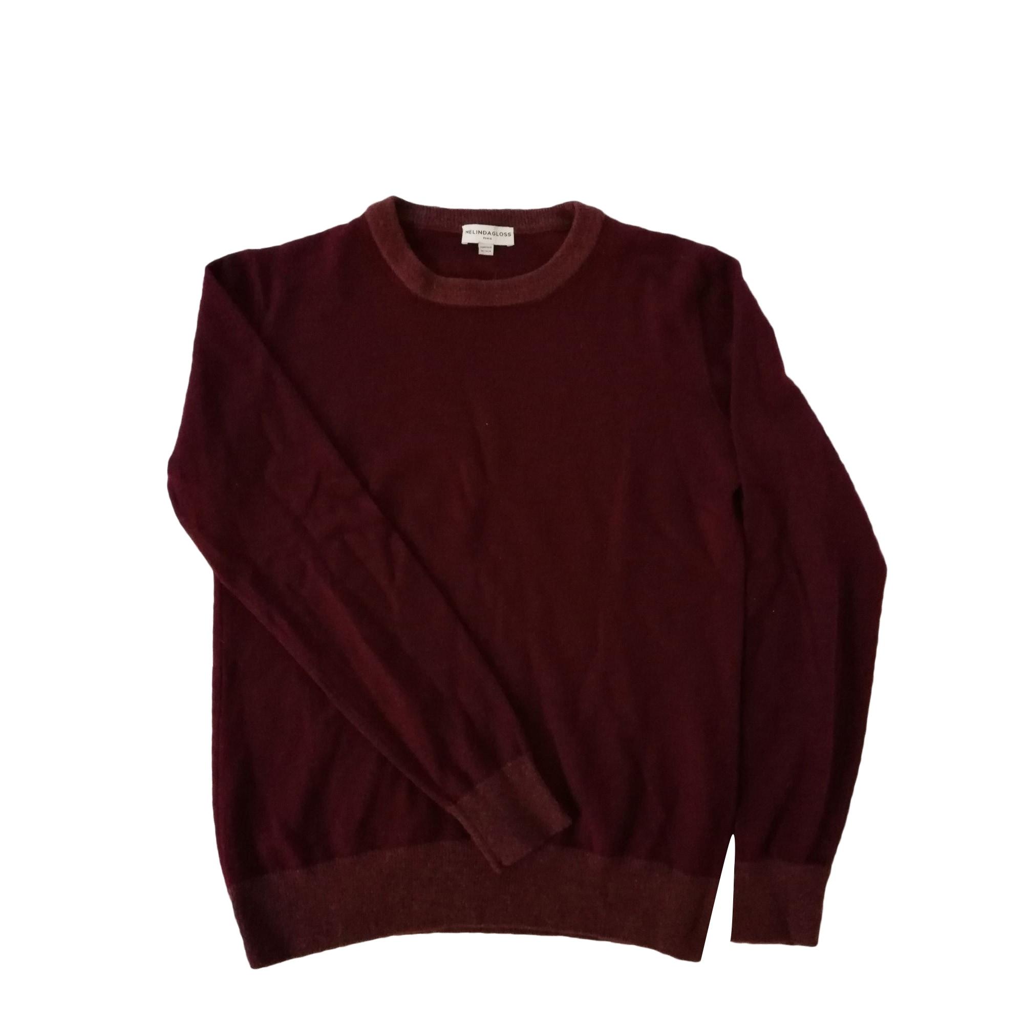 Sweater MELINDA GLOSS Red, burgundy