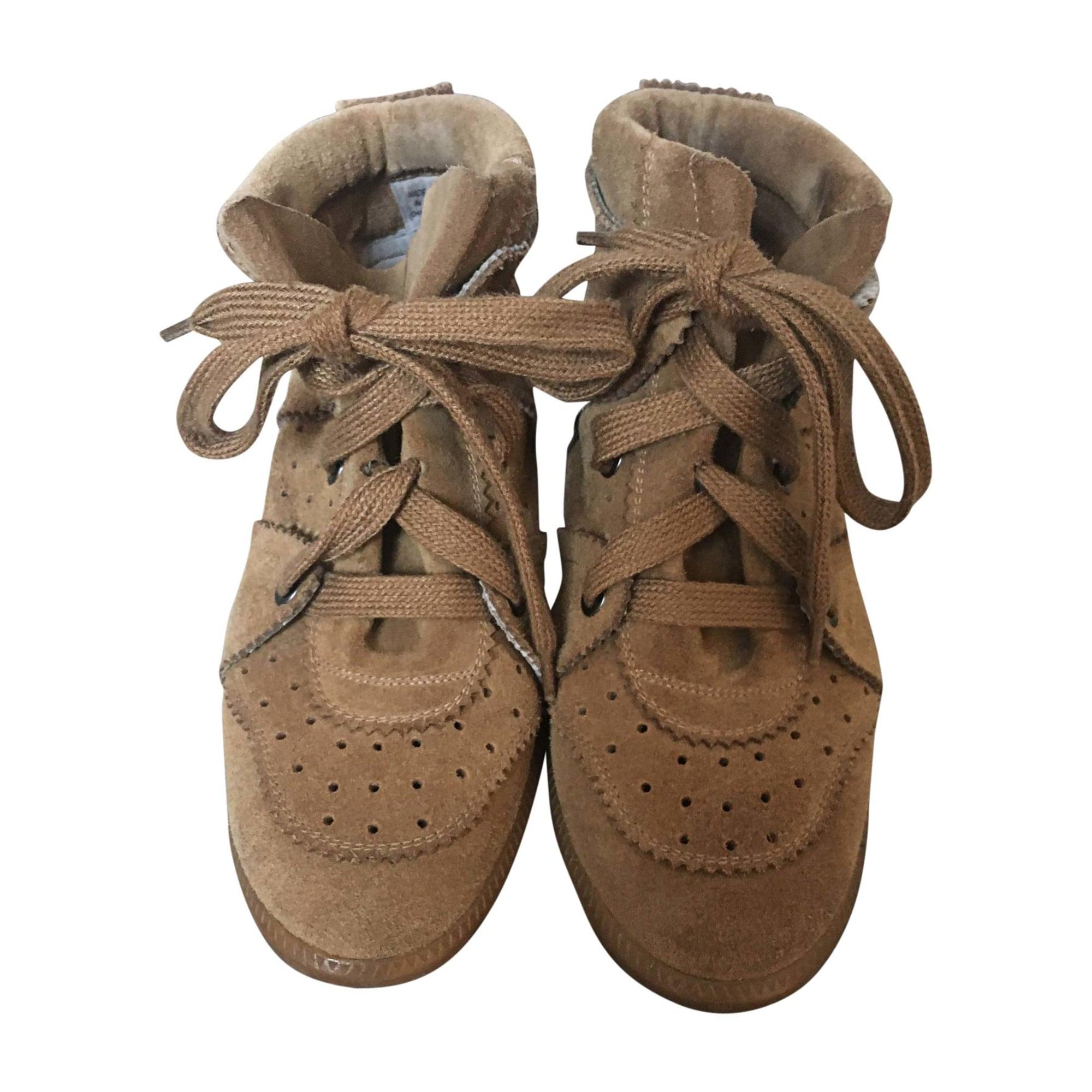 Sneakers ISABEL MARANT Bobby Beige, camel