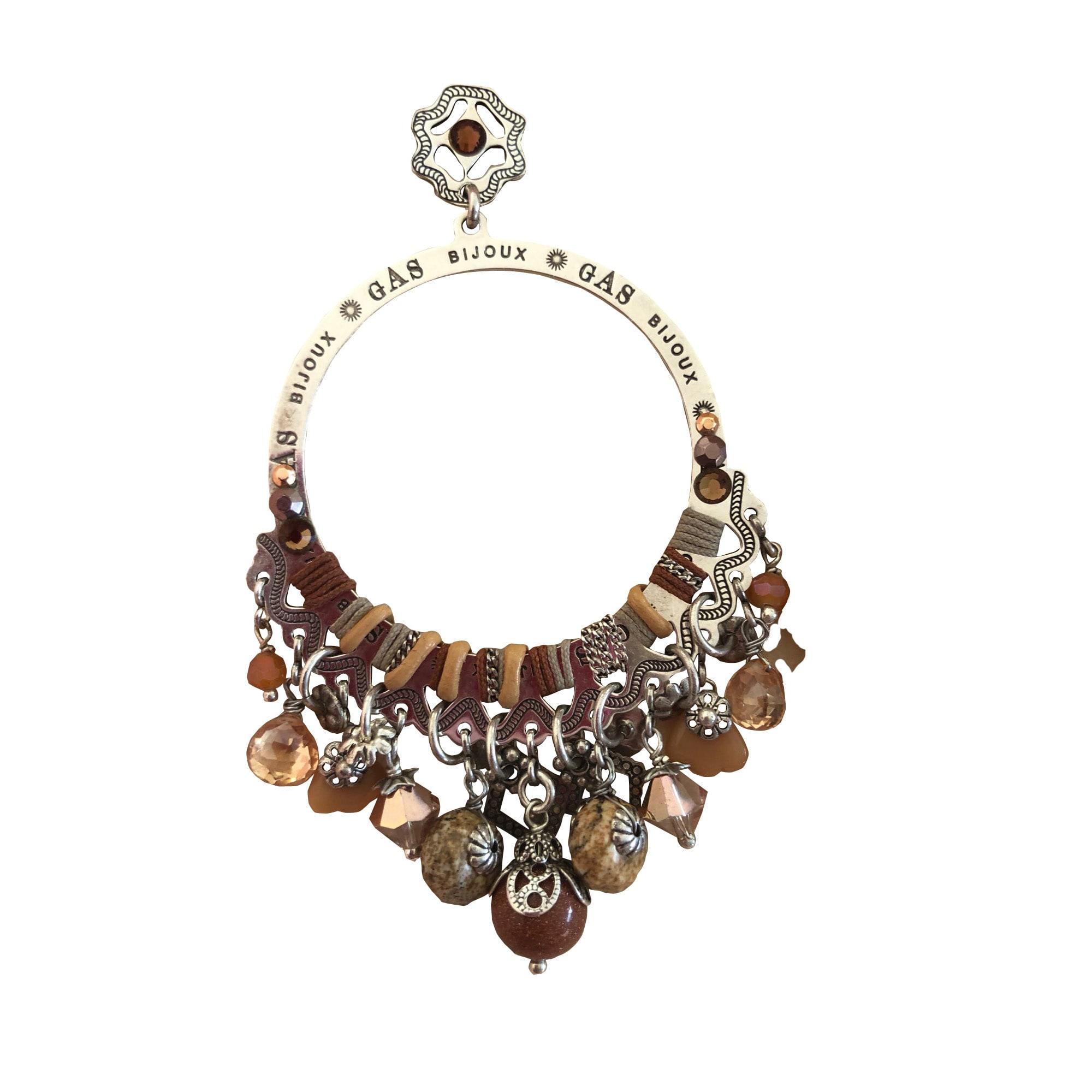 Boucles d'oreille GAS Doré, bronze, cuivre
