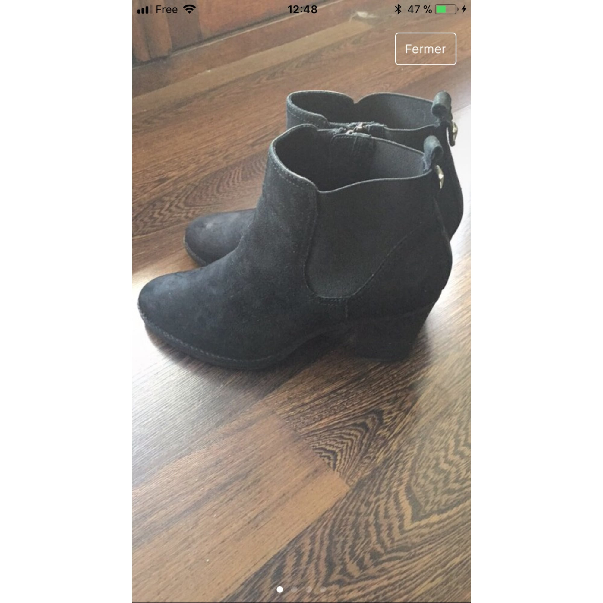 Bottines & low boots à talons STEVE MADDEN Noir