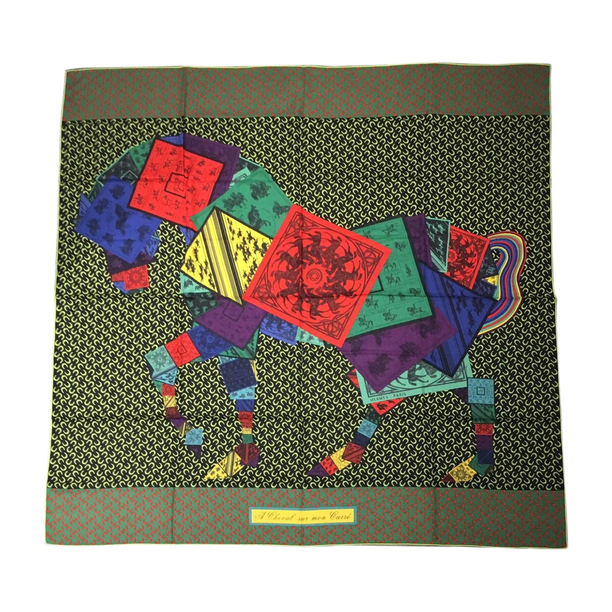 Shawl HERMÈS Multicolor