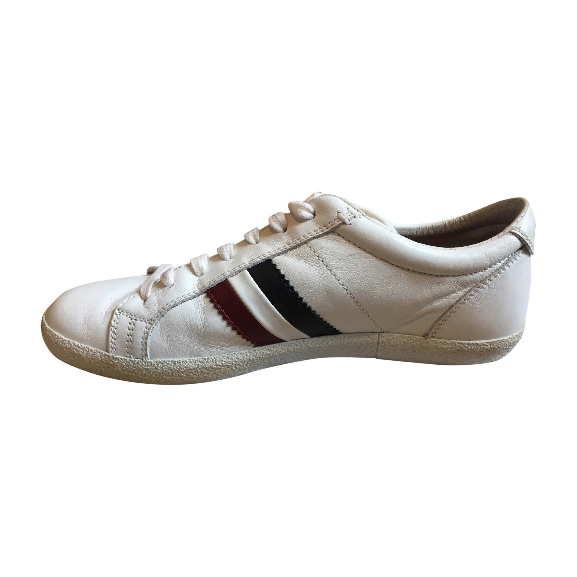 Sneakers MONCLER White, off-white, ecru