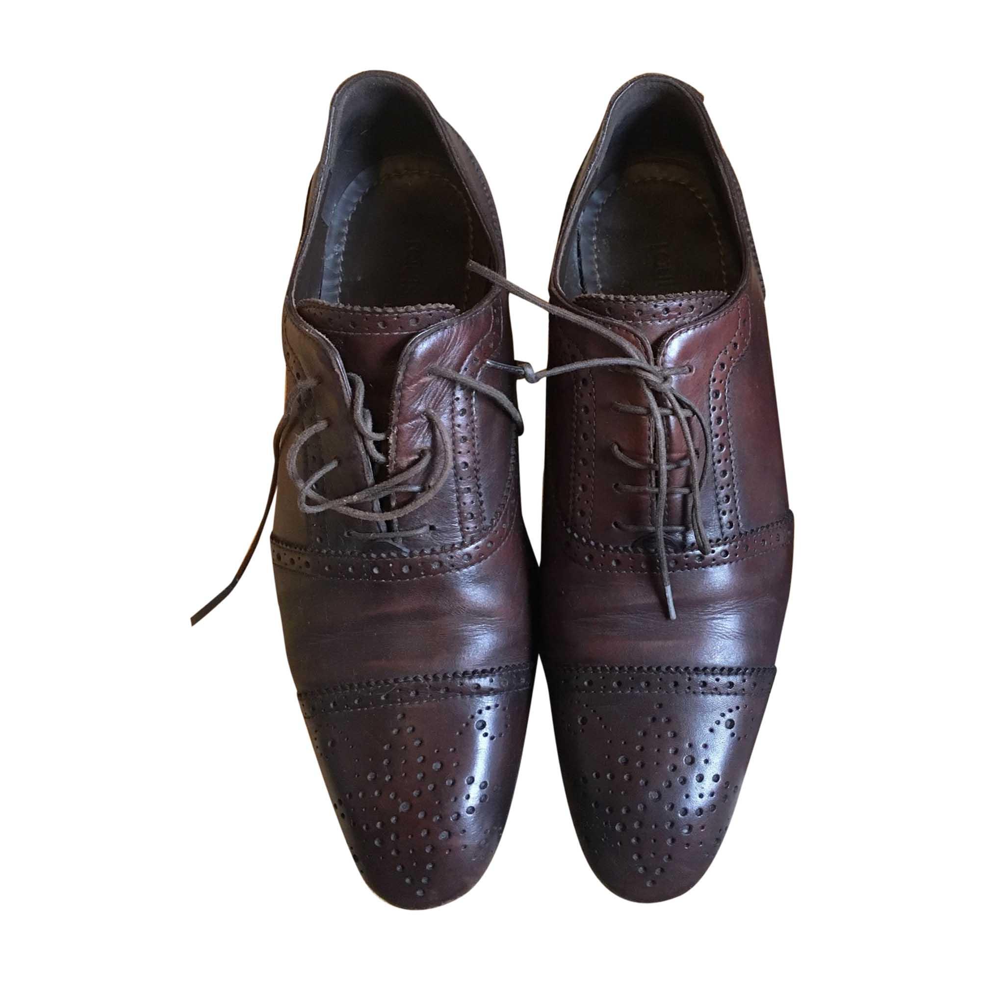 Lace Up Shoes LOUIS VUITTON Brown