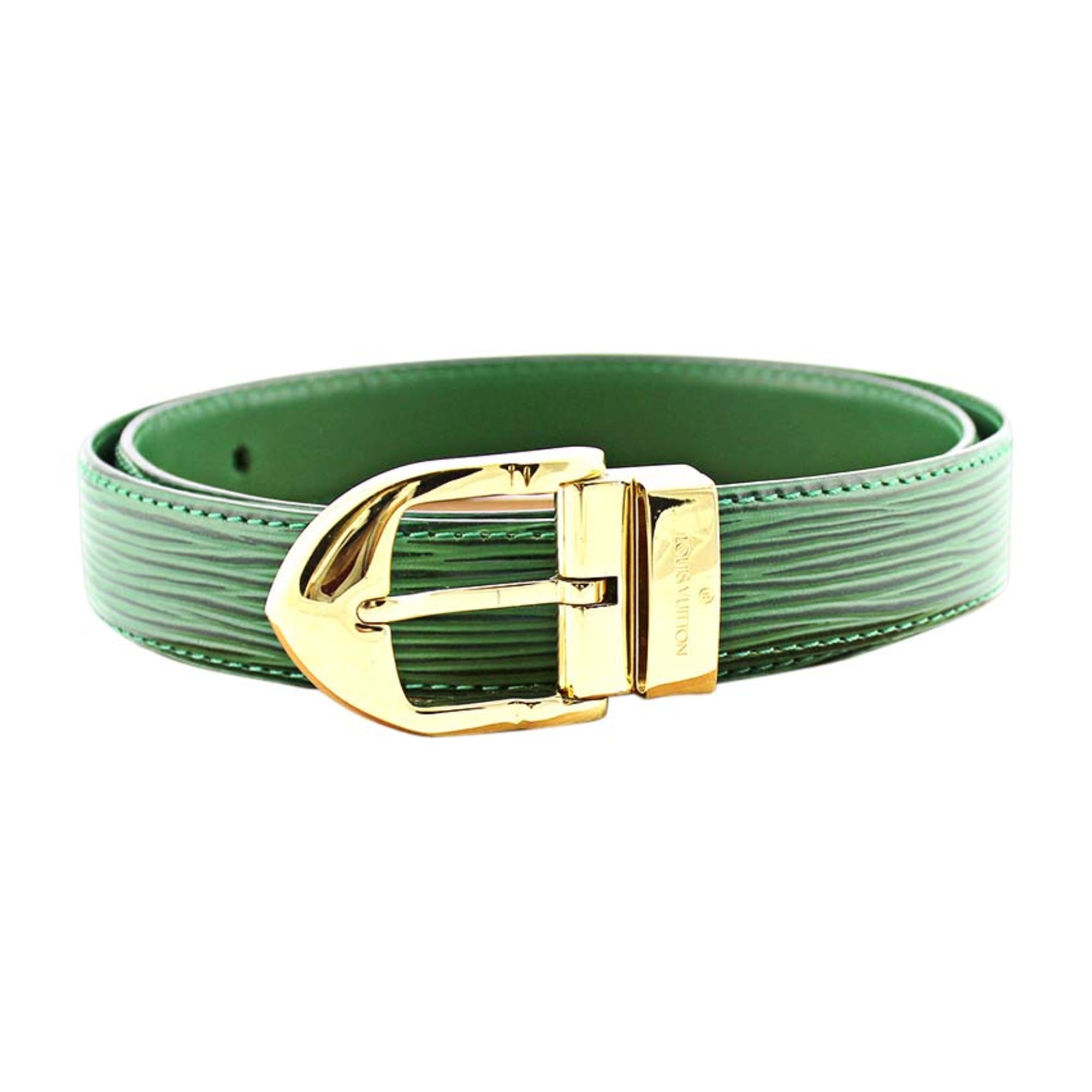 Wide Belt LOUIS VUITTON Green