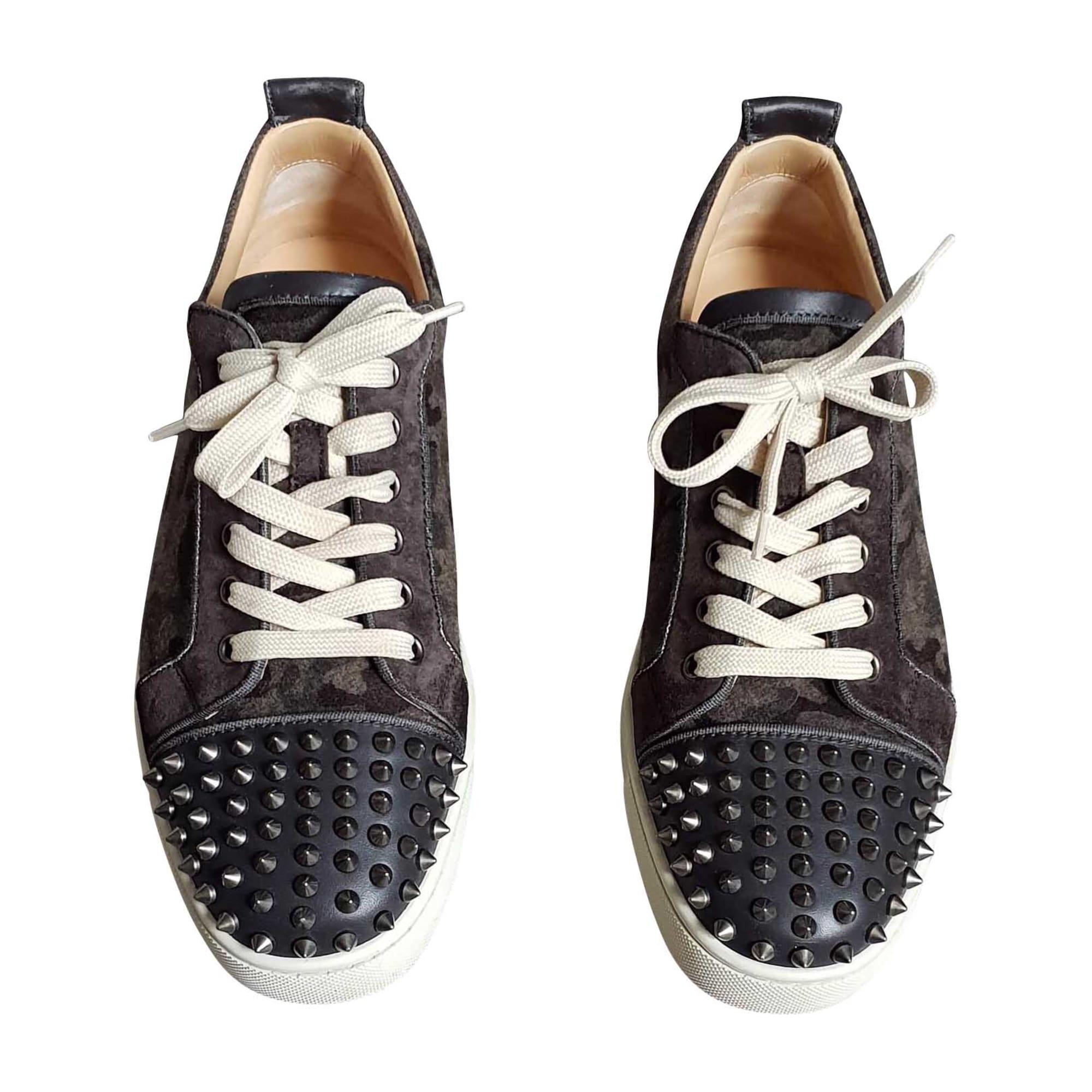 Sneakers CHRISTIAN LOUBOUTIN Gray, charcoal