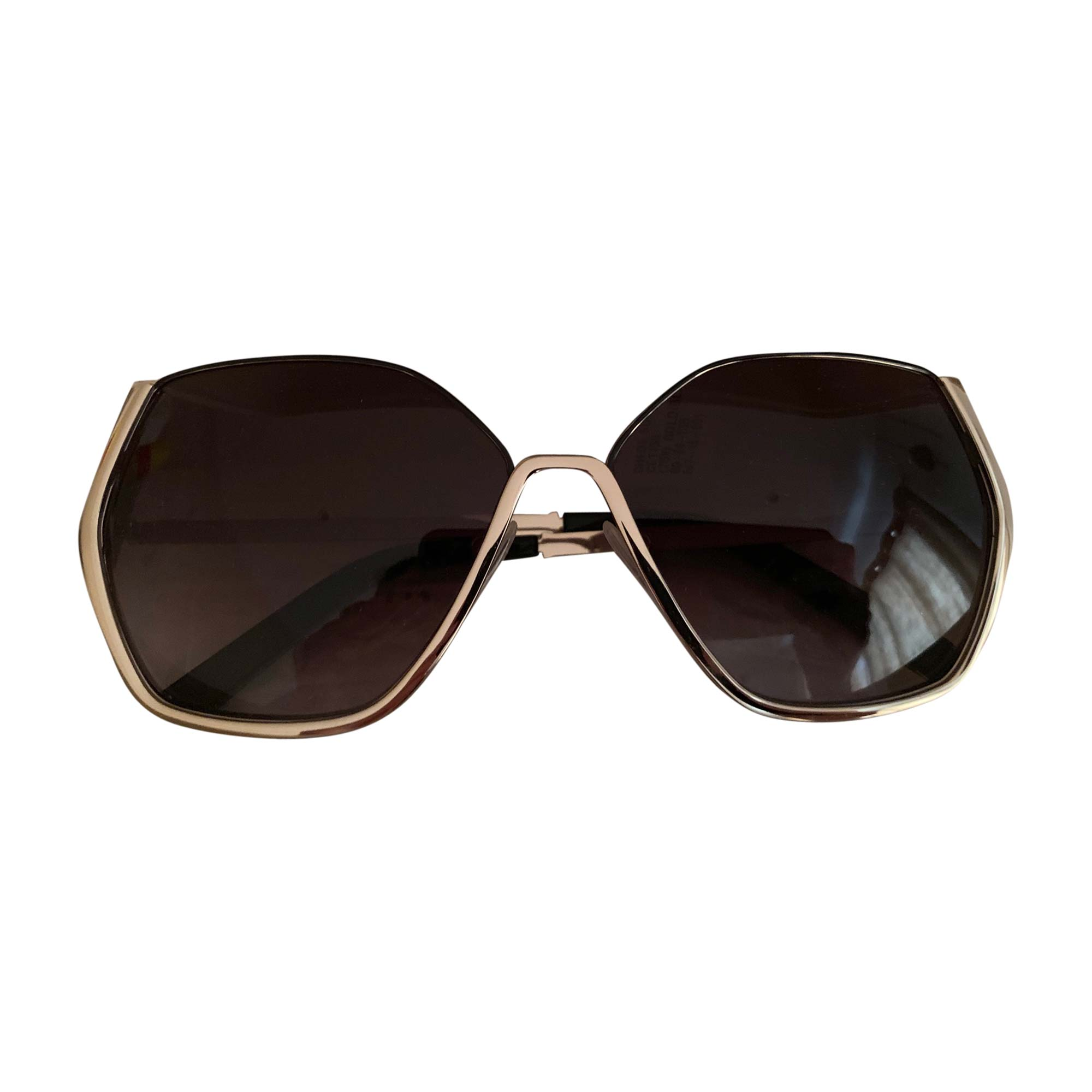 Sunglasses CHLOÉ Golden, bronze, copper
