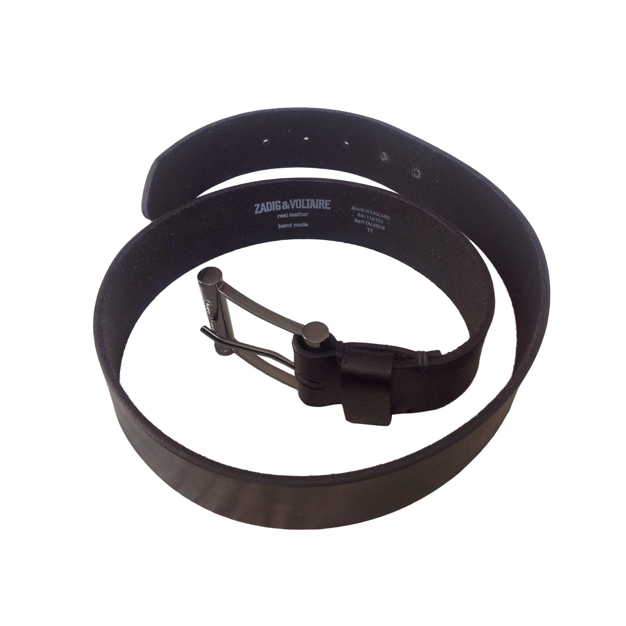Wide Belt ZADIG & VOLTAIRE Black
