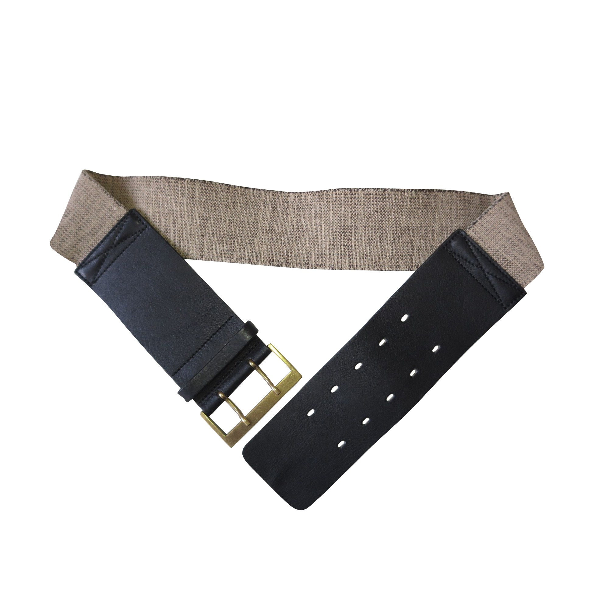 Wide Belt CLAUDIE PIERLOT Brown