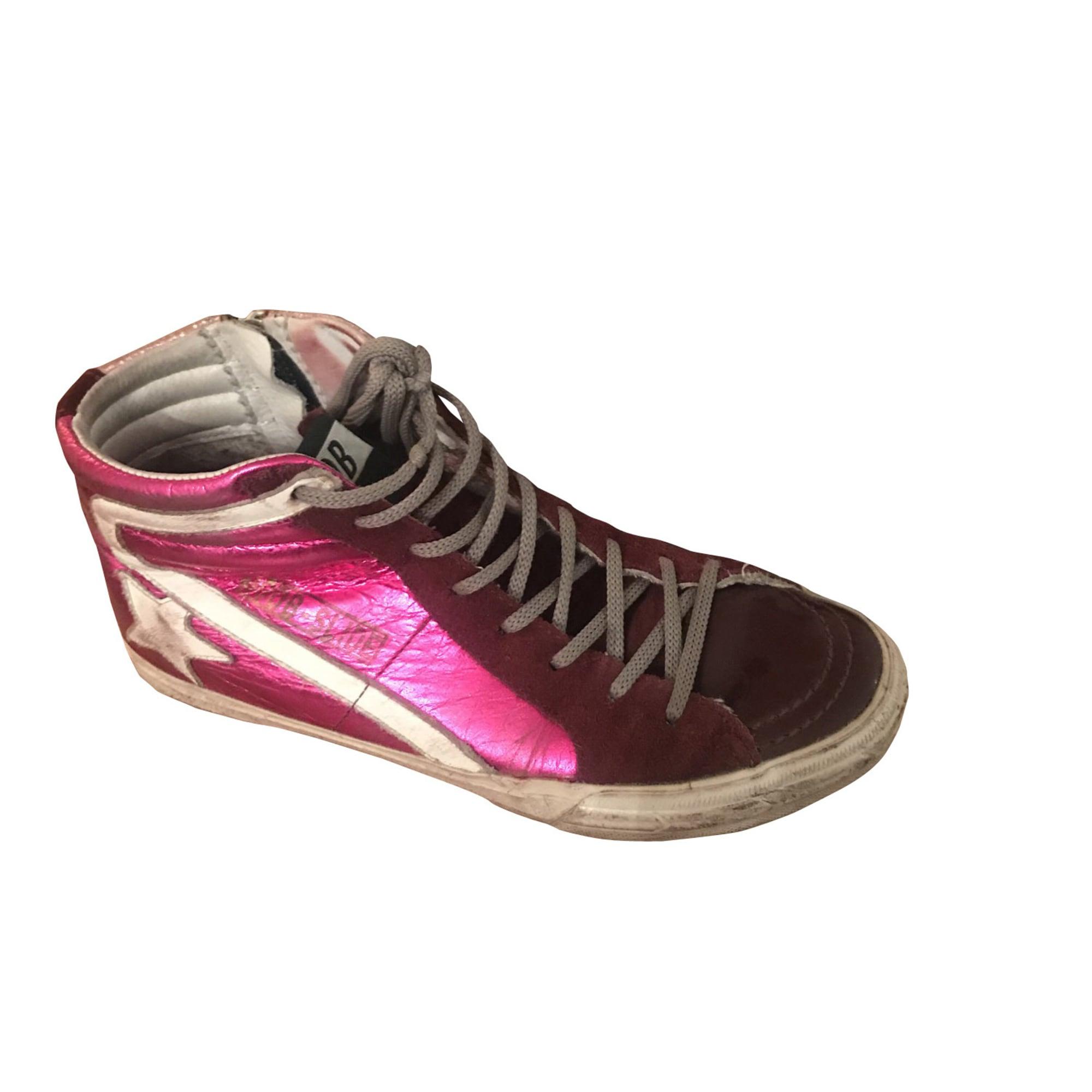 Sneakers GOLDEN GOOSE Pink, fuchsia, light pink