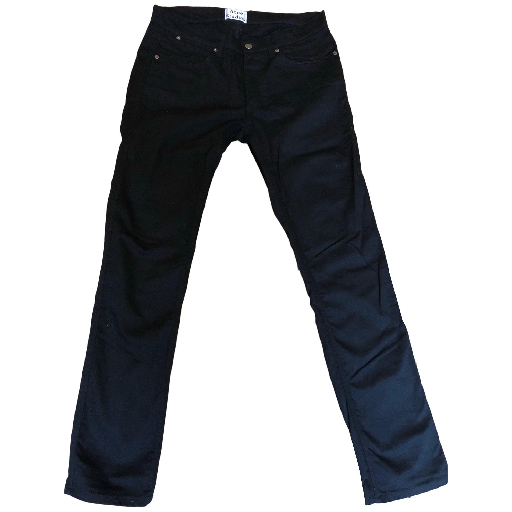 Skinny Jeans ACNE Black