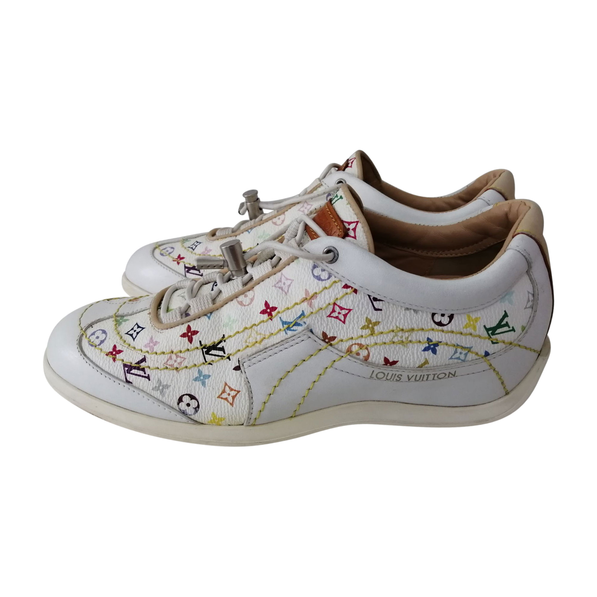 Sneakers LOUIS VUITTON White, off-white, ecru