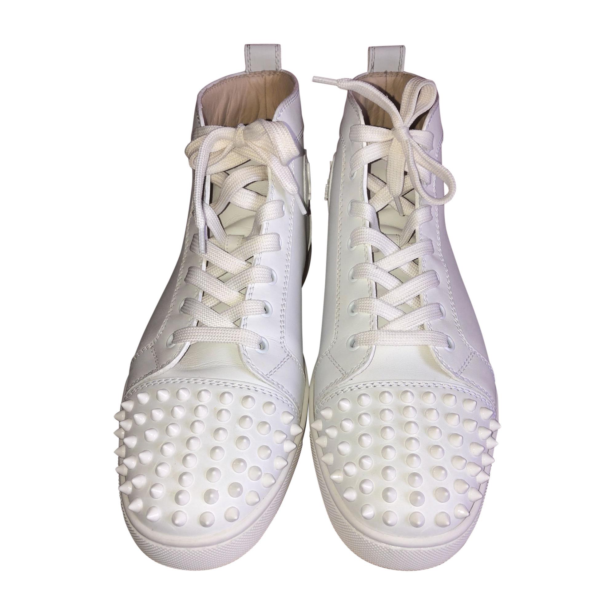 Sneakers CHRISTIAN LOUBOUTIN White, off-white, ecru