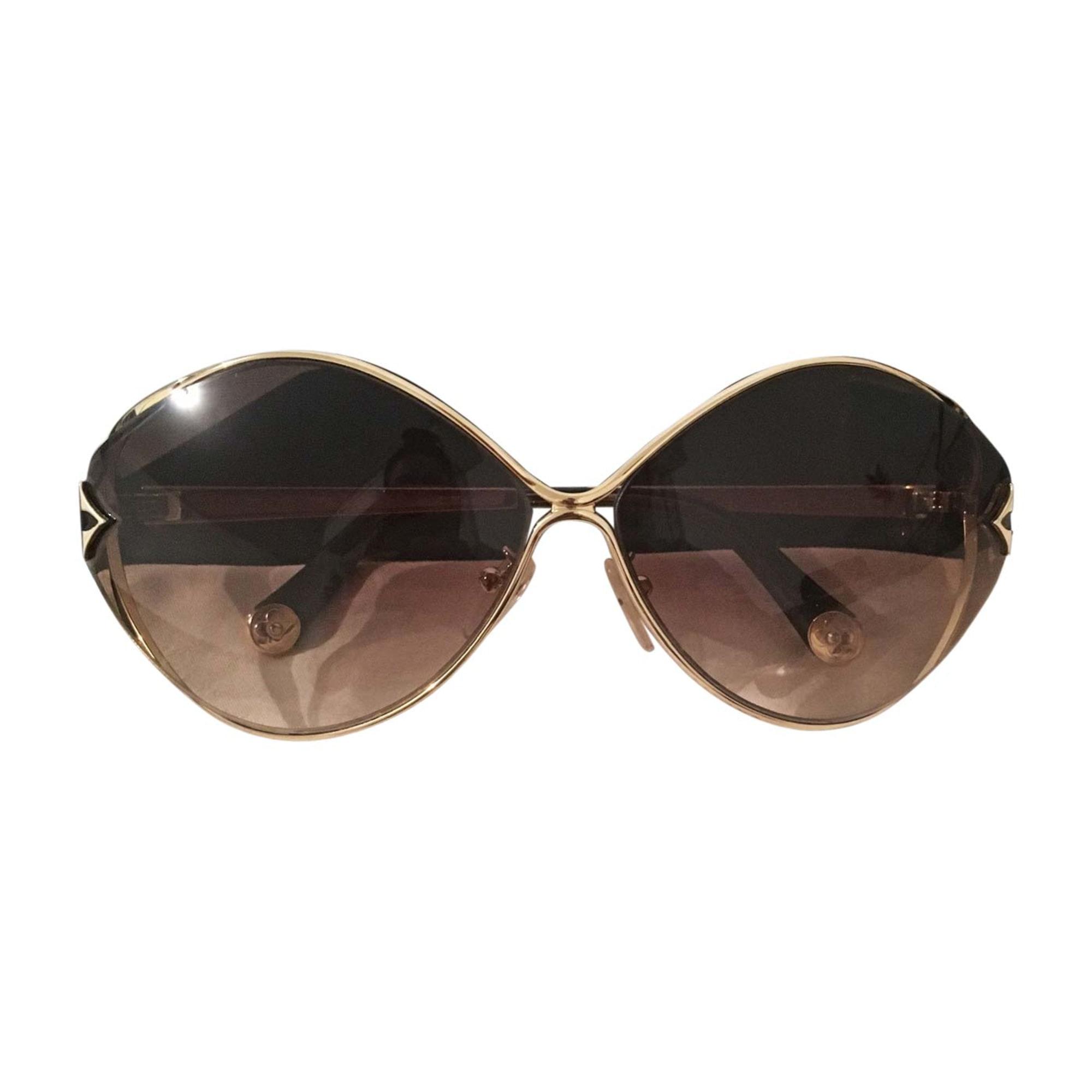 Sunglasses LOUIS VUITTON Golden, bronze, copper