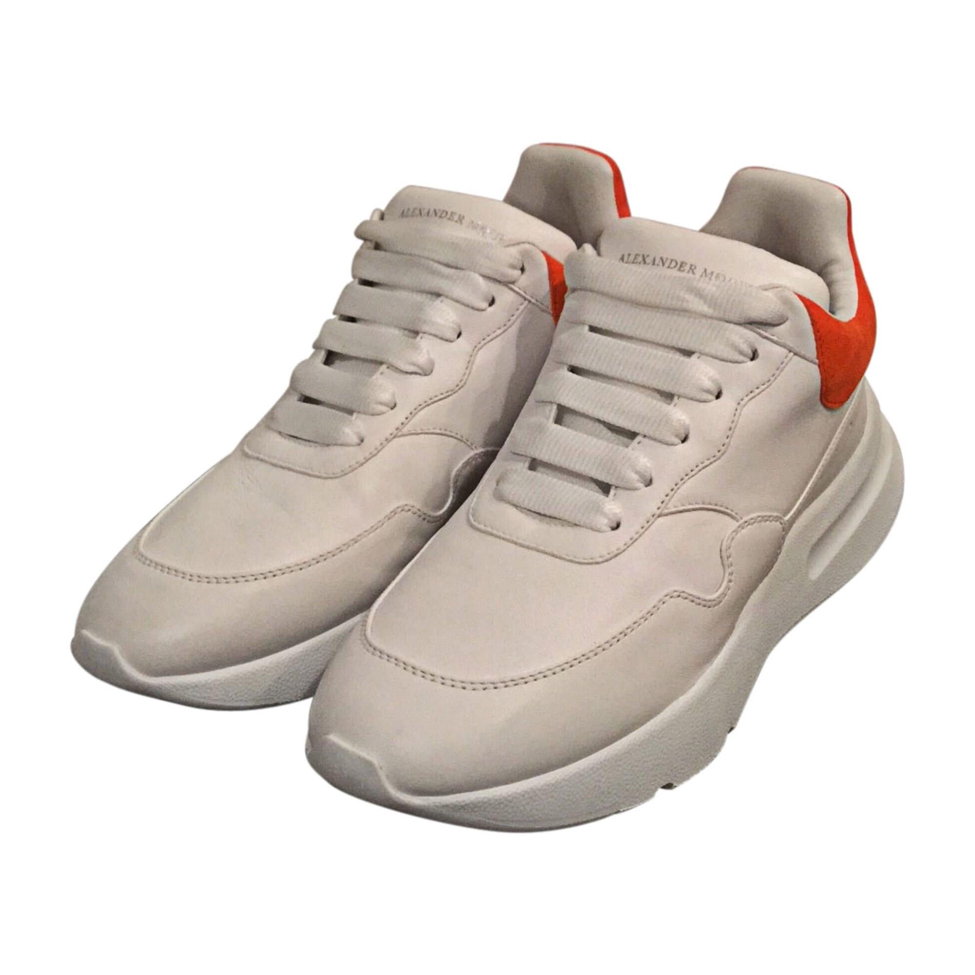 Sneakers ALEXANDER MCQUEEN White, off-white, ecru