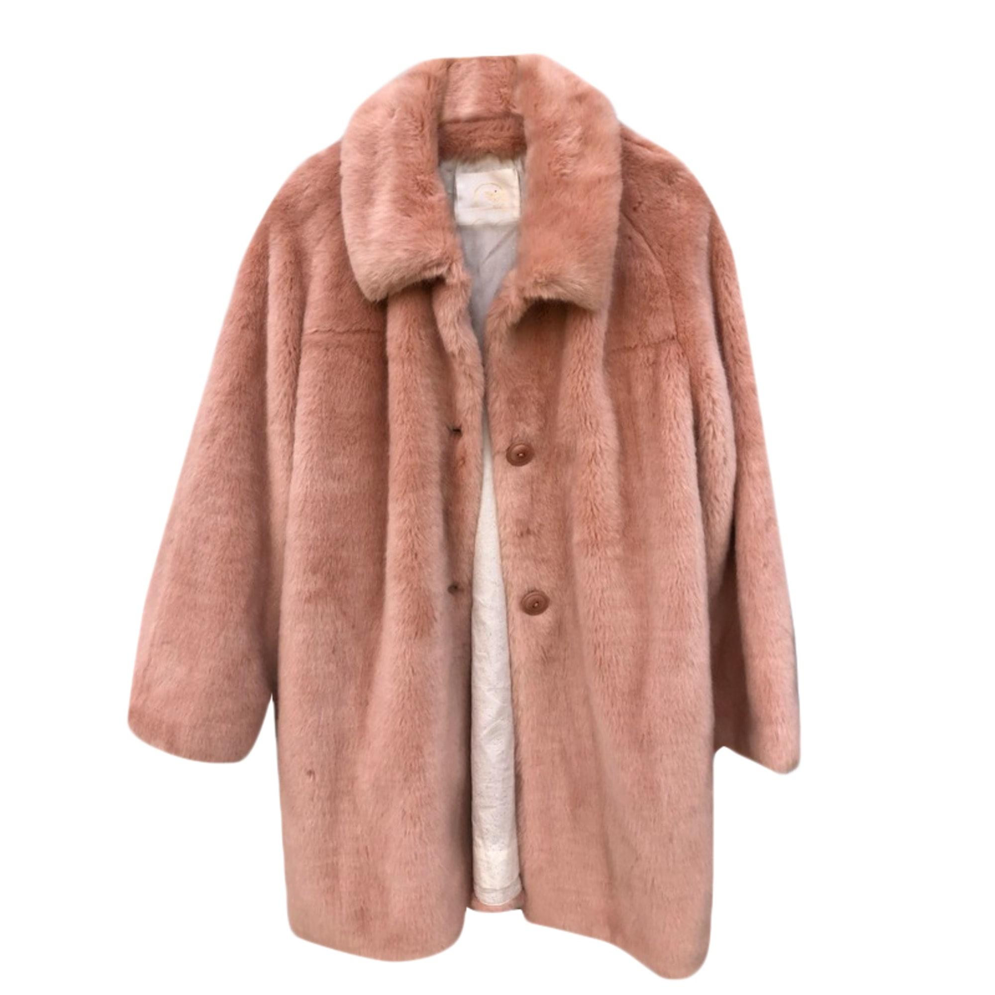 Manteau DES PETITS HAUTS Rose, fuschia, vieux rose