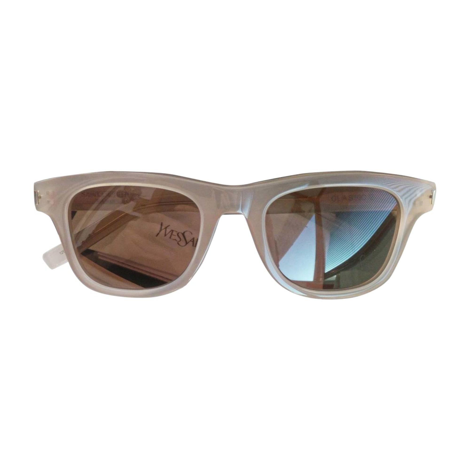 Sunglasses SAINT LAURENT Beige, camel