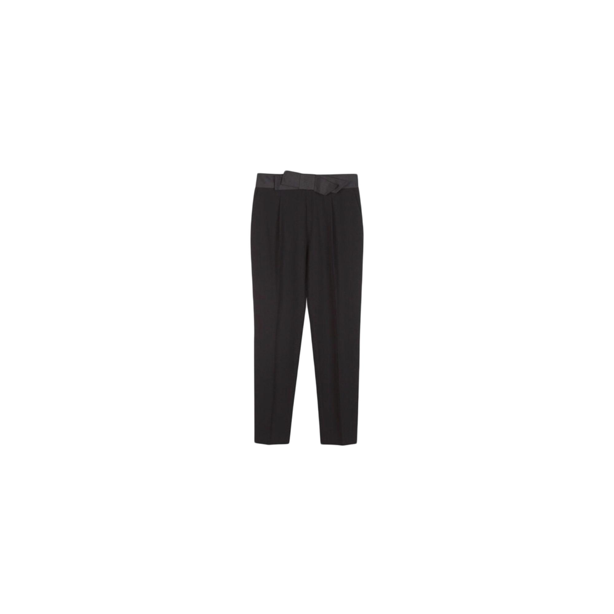 Pantalon slim, cigarette CLAUDIE PIERLOT Noir