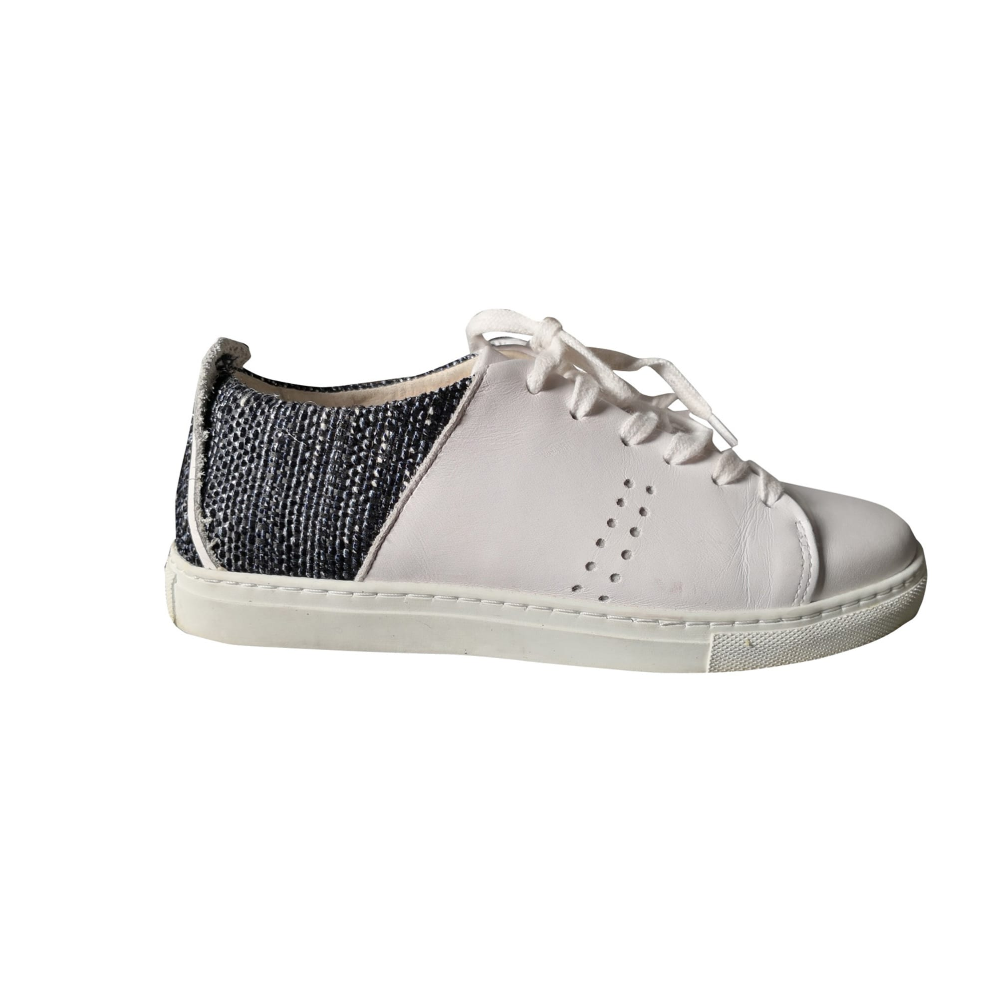 Sneakers MONSIEUR MOUSTACHE White, off-white, ecru
