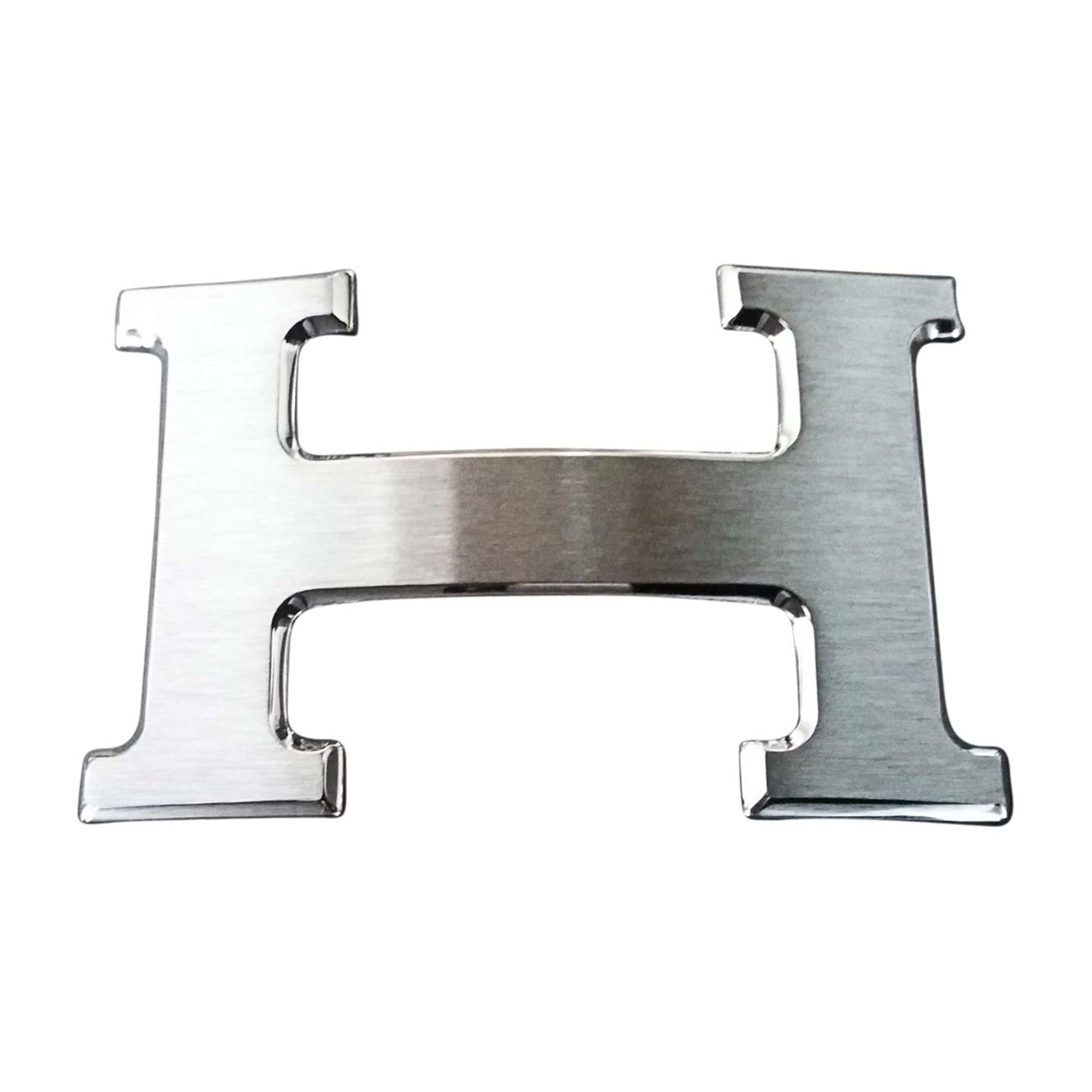 Wide Belt HERMÈS Silver