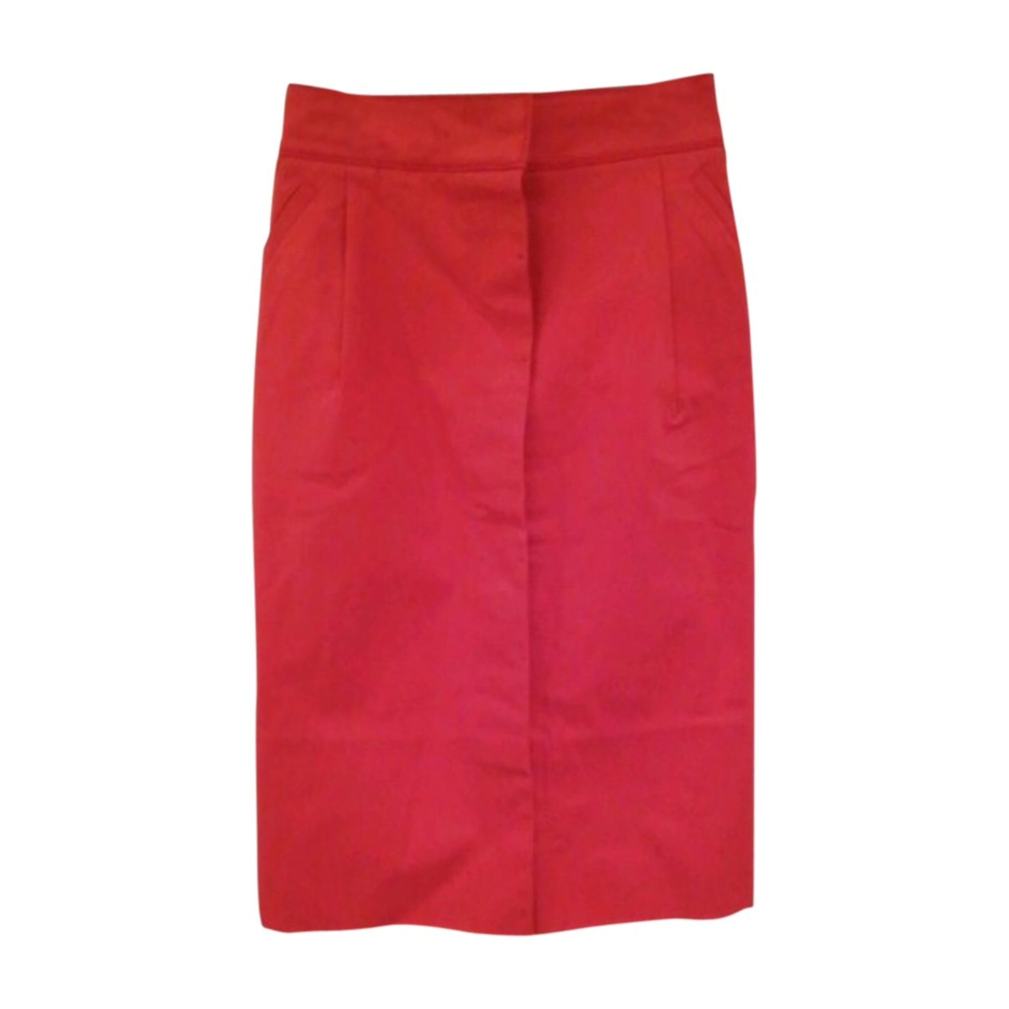 Midi Skirt LOUIS VUITTON Red, burgundy