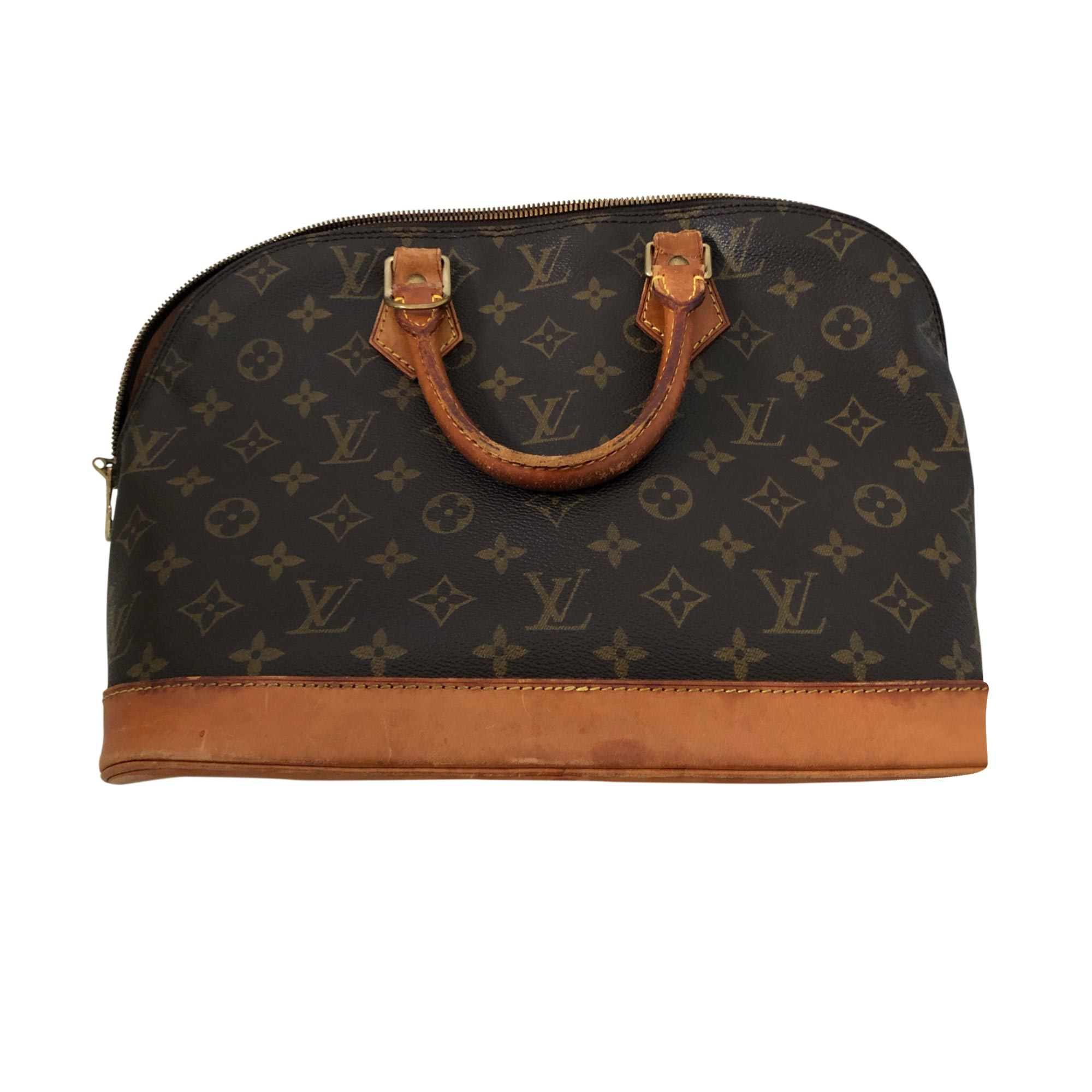 Borsetta in pelle LOUIS VUITTON Beige, cammello
