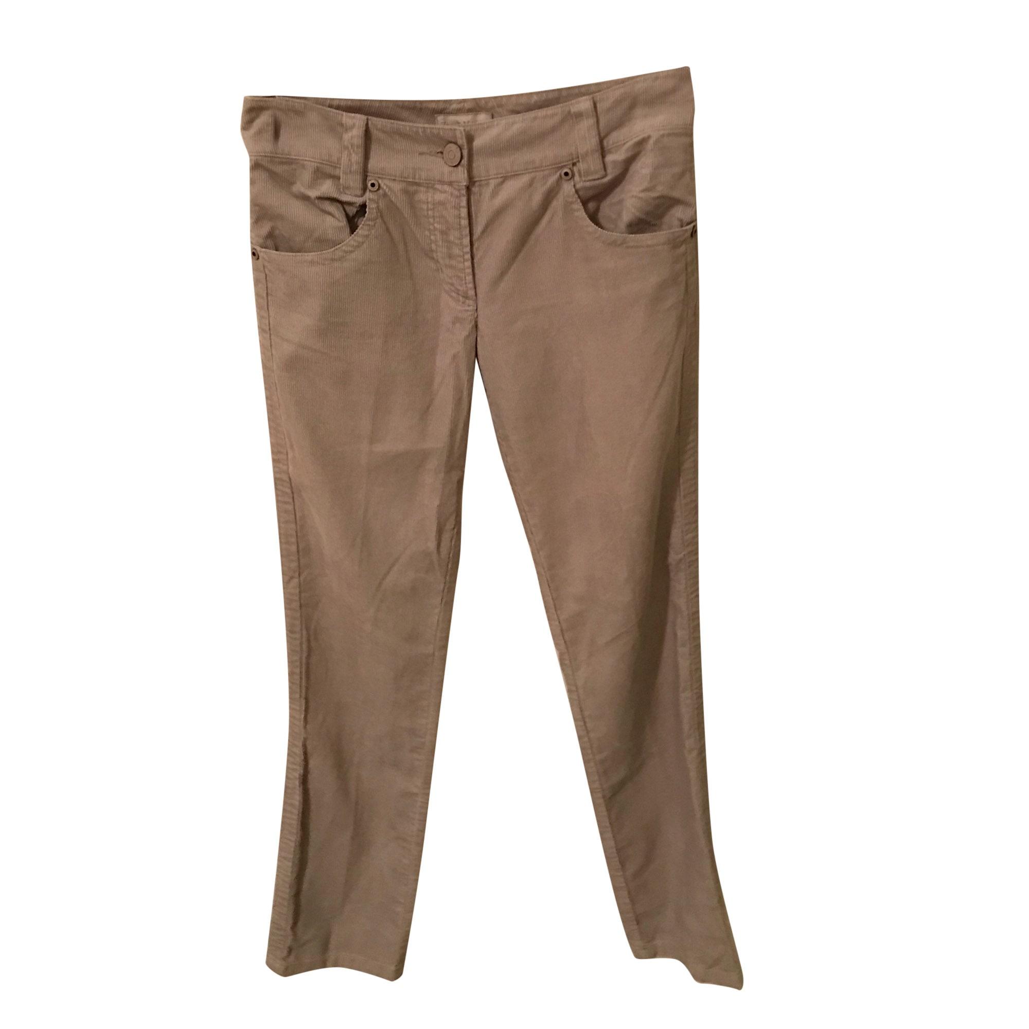 Pantalon droit ZADIG & VOLTAIRE Cendré