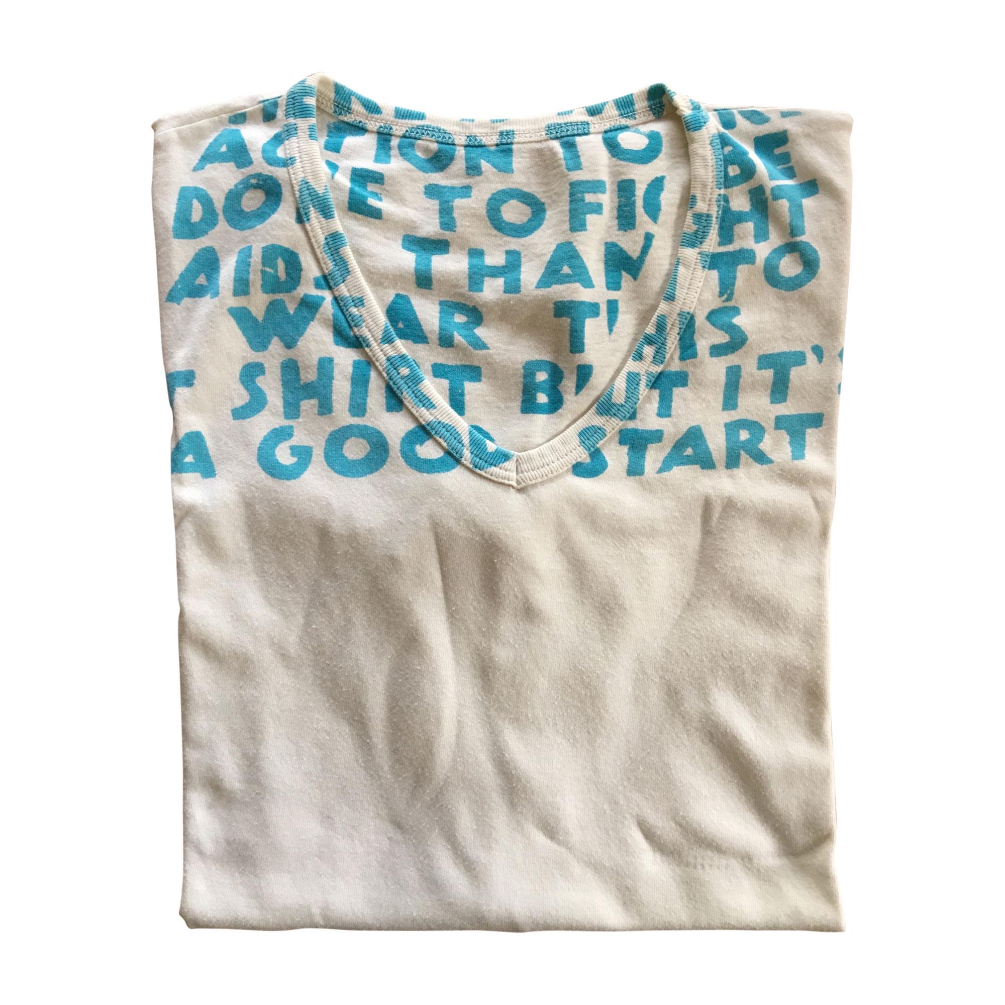 T-shirt MAISON MARTIN MARGIELA Bianco, bianco sporco, ecru