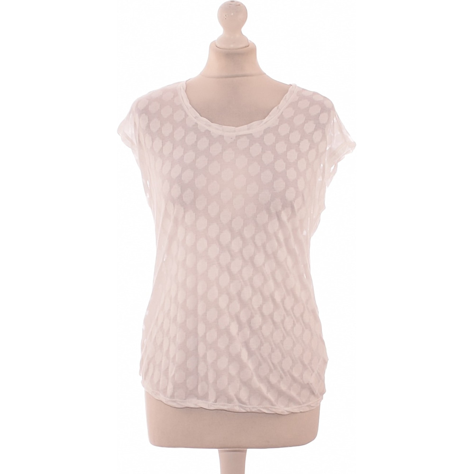 Top, T-shirt ZADIG & VOLTAIRE White, off-white, ecru