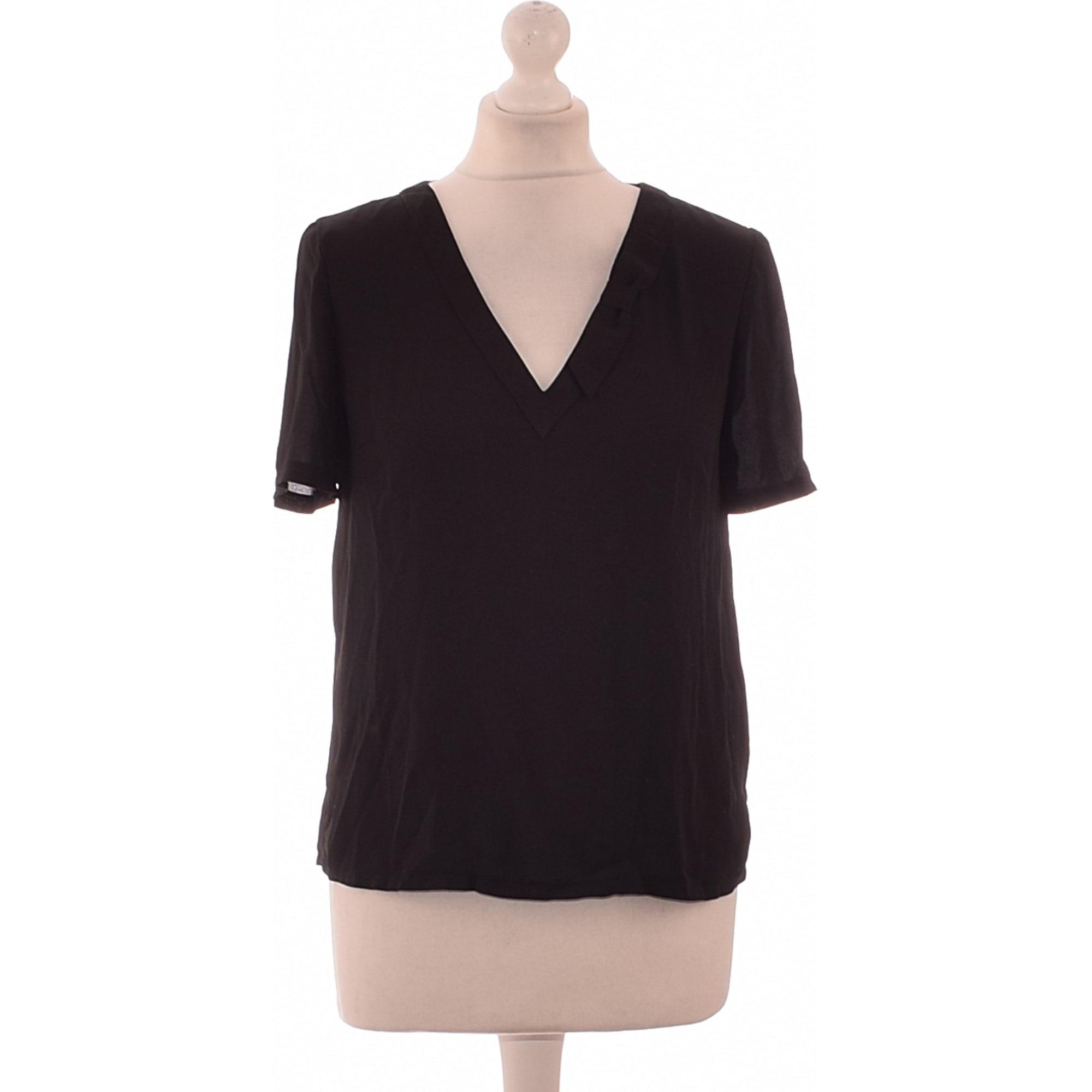 Top, T-shirt CLAUDIE PIERLOT Black