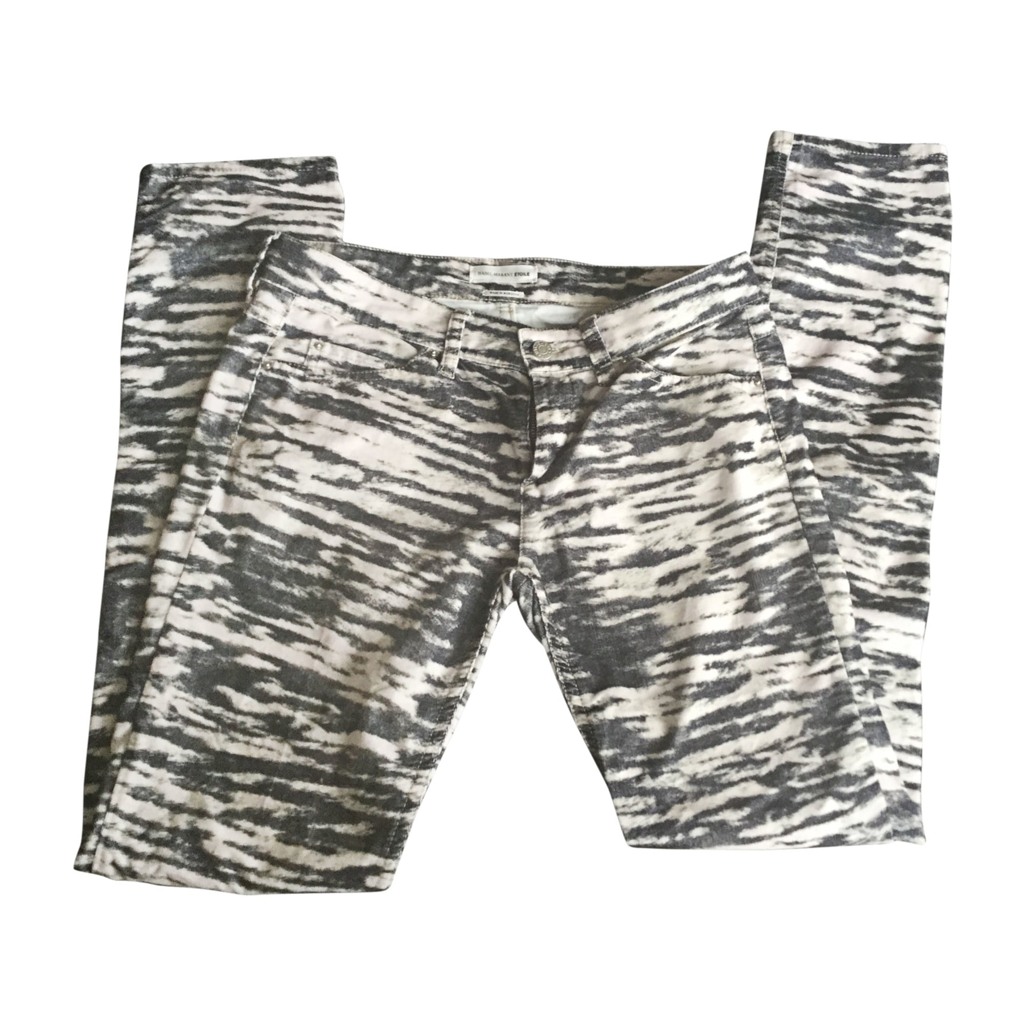 Pantalon droit ISABEL MARANT ETOILE Imprimés animaliers