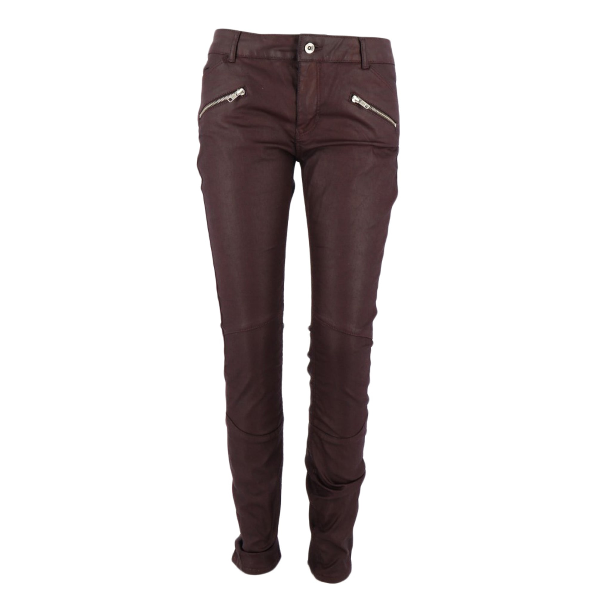 Pantalon droit CLAUDIE PIERLOT Violet, mauve, lavande