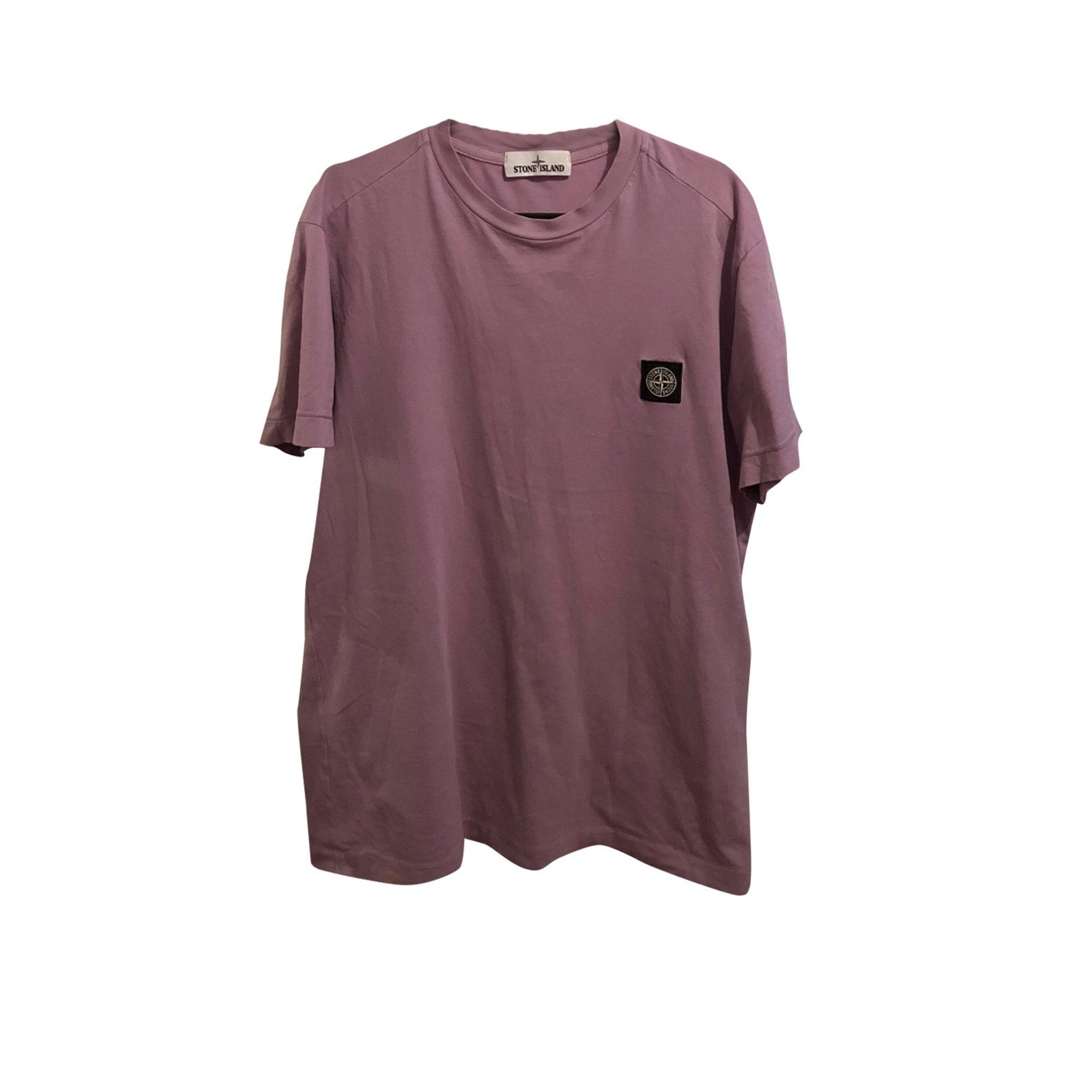 T-shirt STONE ISLAND Purple, mauve, lavender